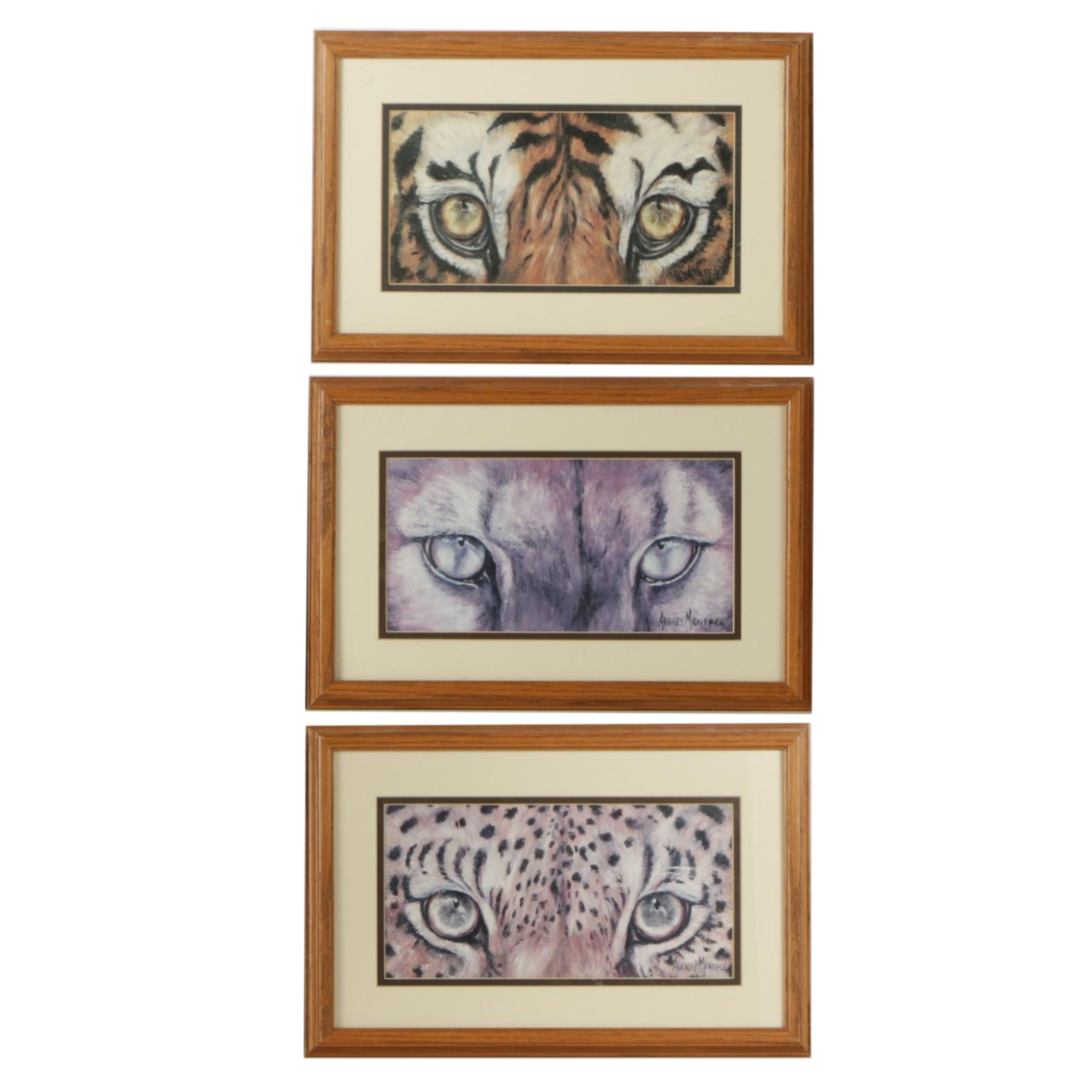 Set of Offset Lithographs on Paper After Audrey Menefee