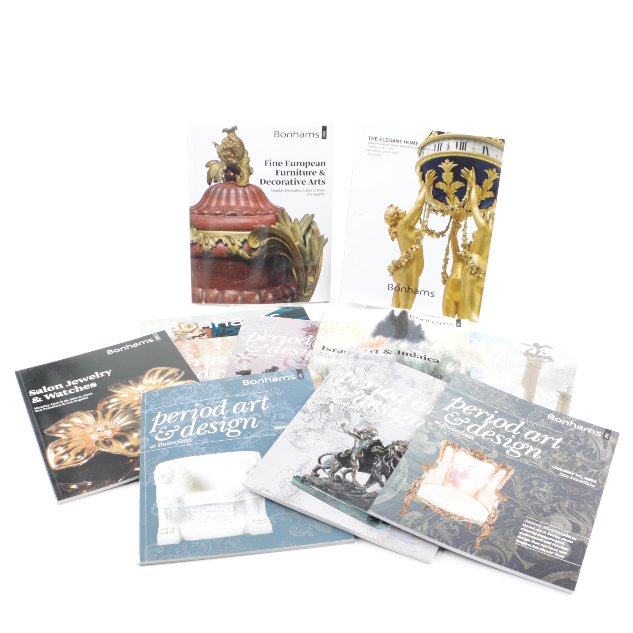 Bonhams Art Catalogs and Magazines