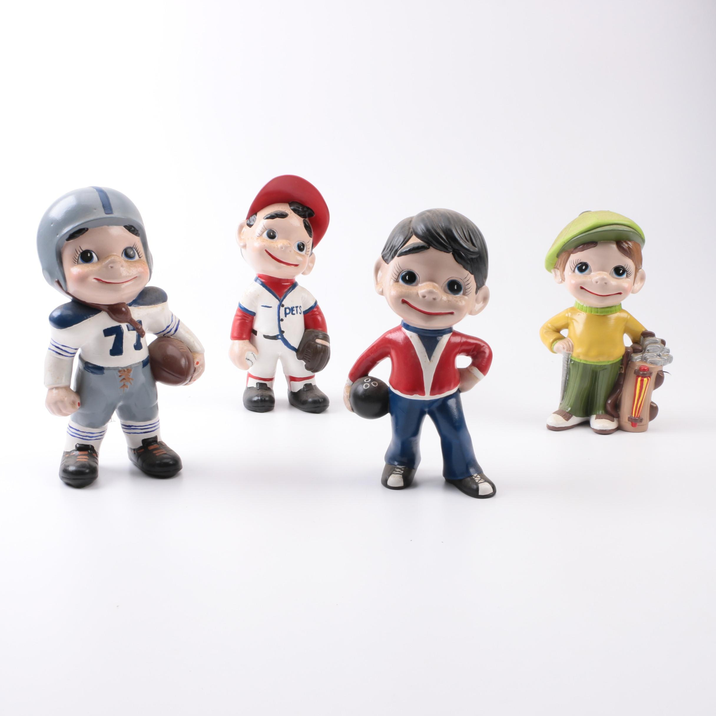 Sports Themed Figurine Collection