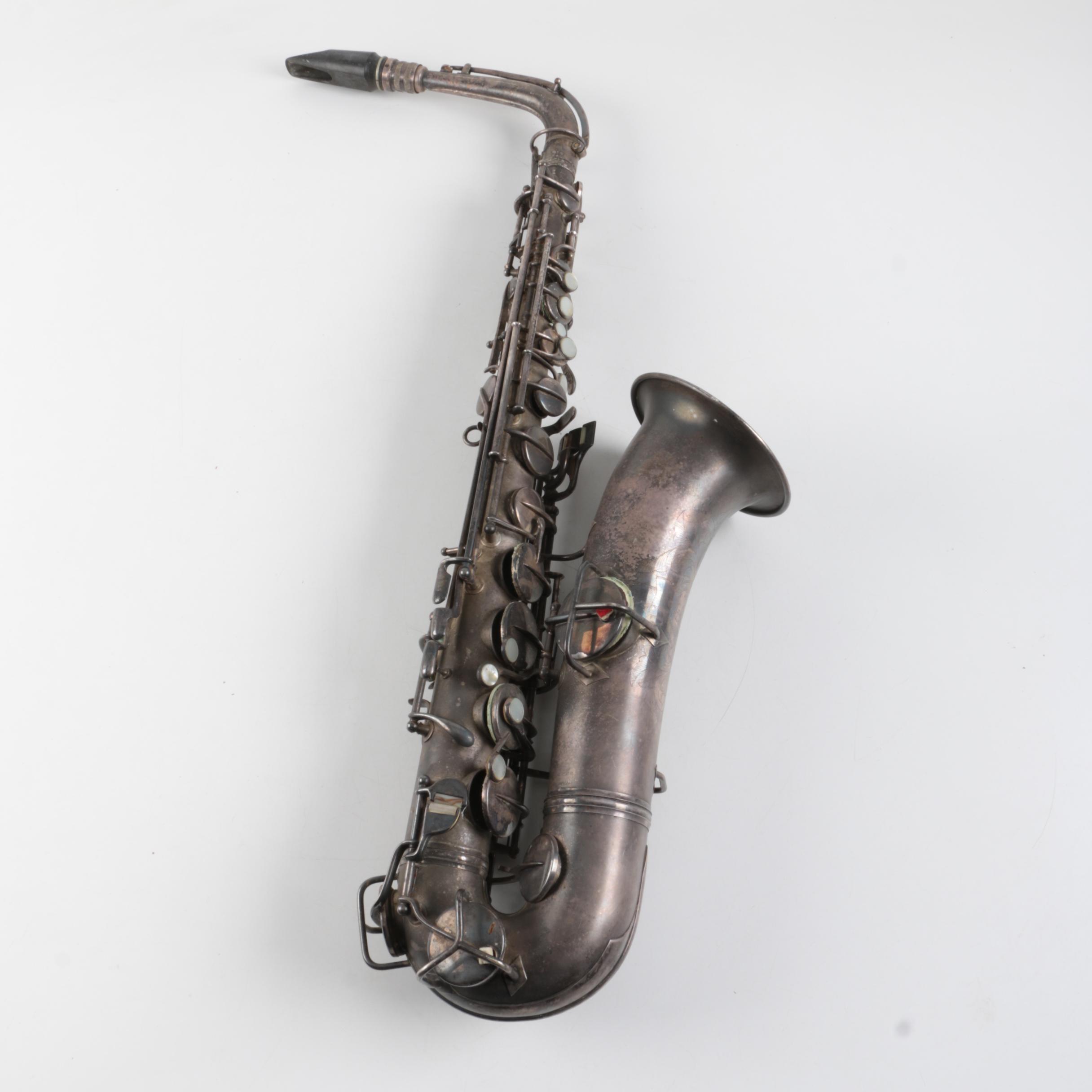 """Vintage Elkhart """"C G Conn LTD"""" Alto Saxophone"""