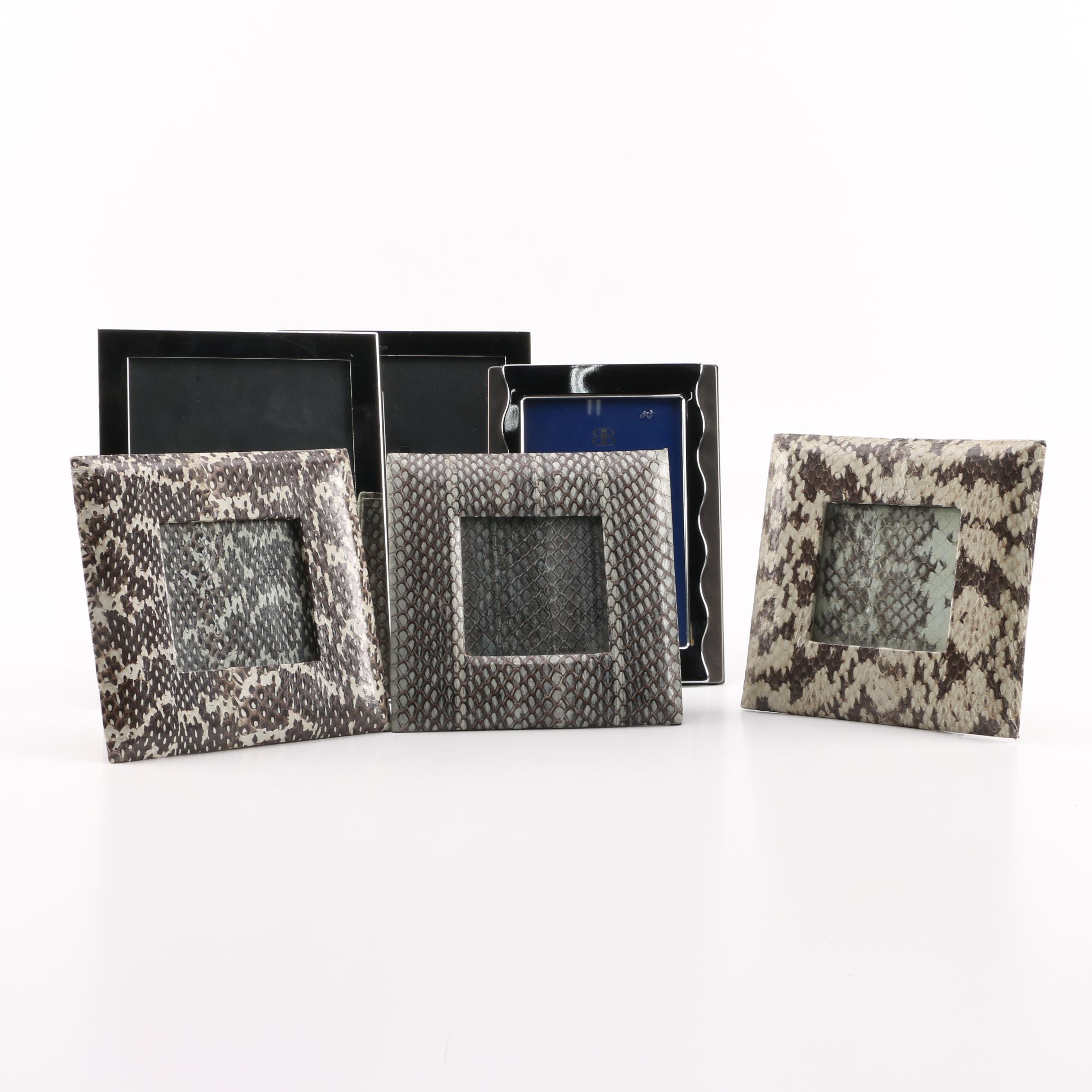 Metal Snake Skin Style Picture Frames