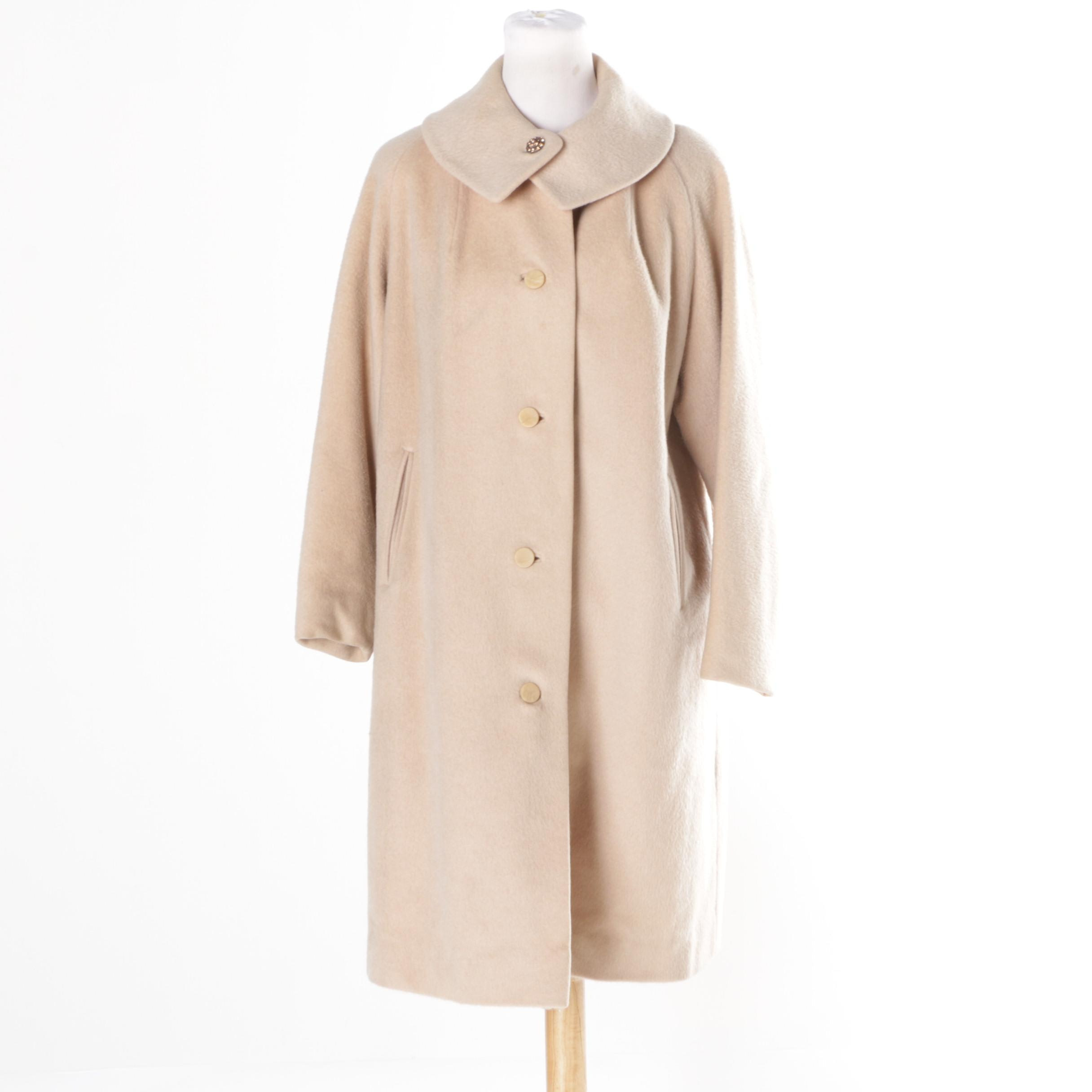 Woman's Vintage Youthcraft Wool Coat