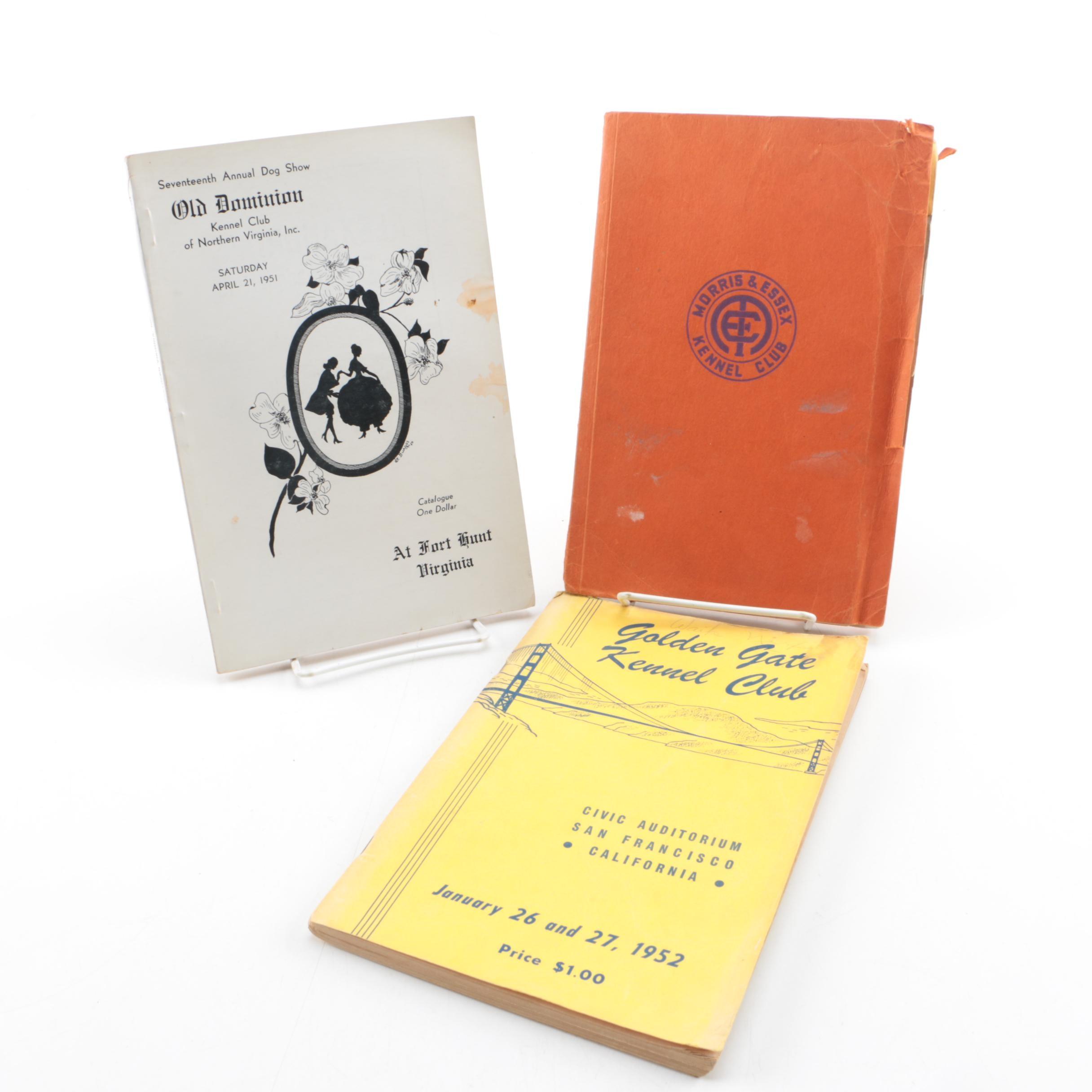 1950s Kennel Club Books