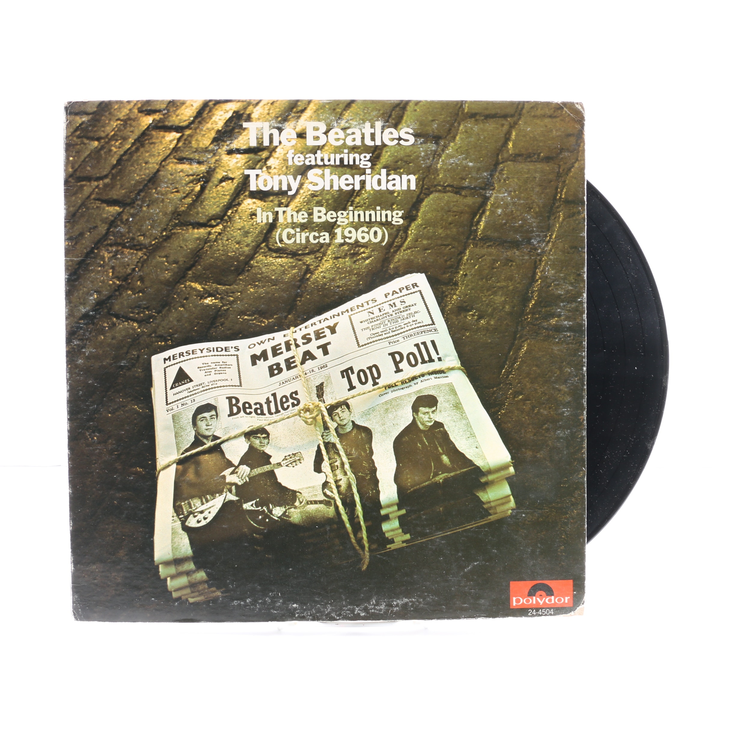 "The Beatles Featuring Tony Sheridan ""In The Beginning""  US Pressing LP"