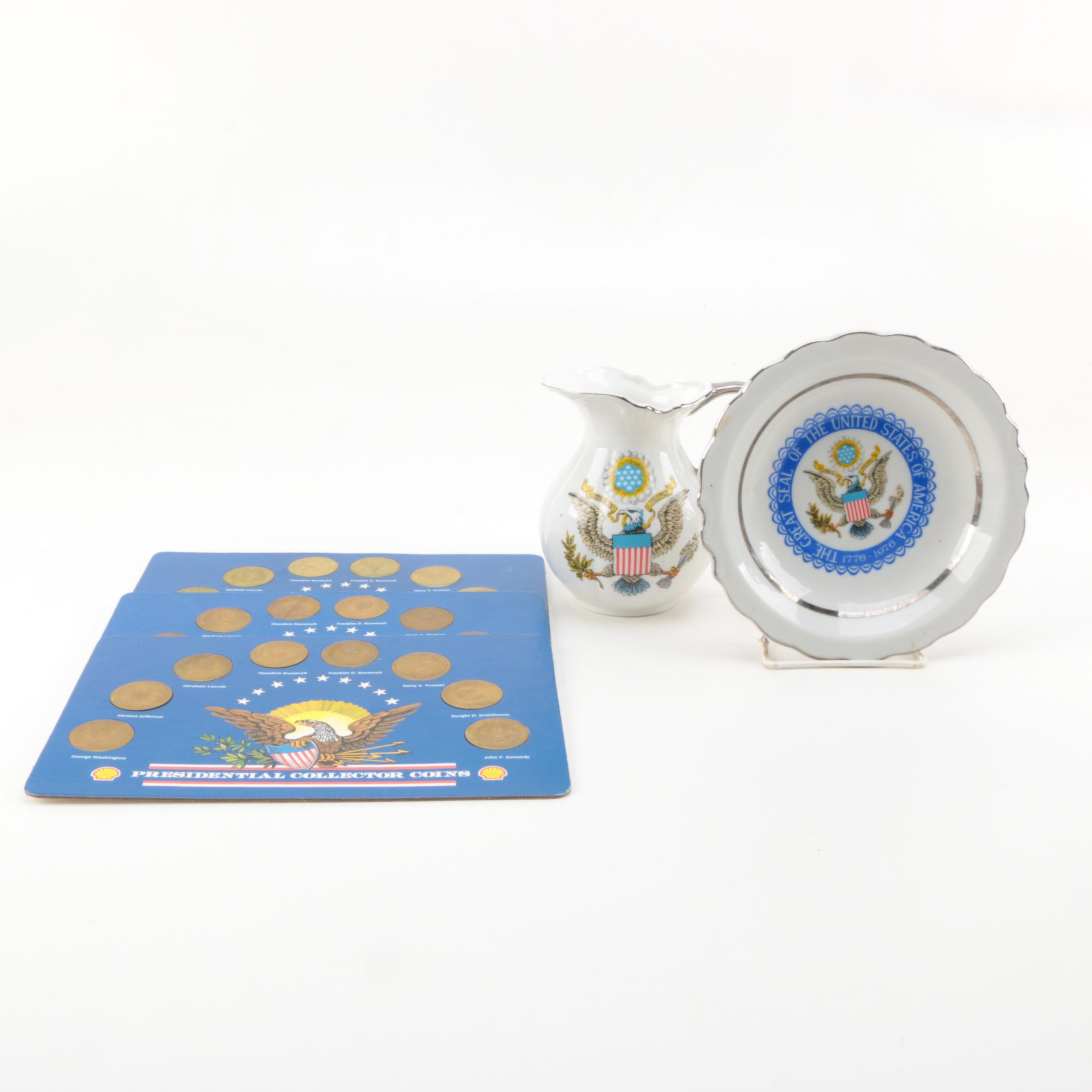Collection of US Presidential Memorabilia