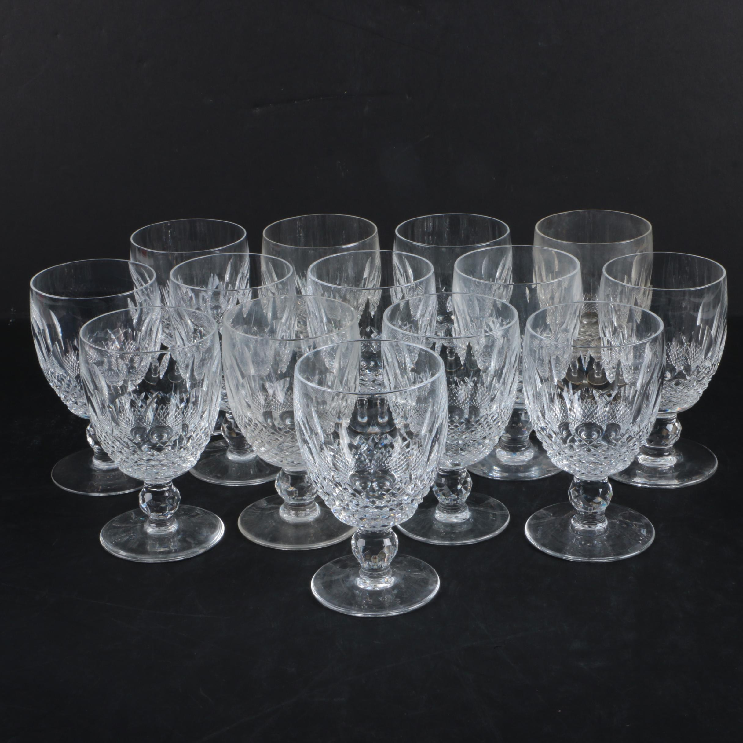 "Waterford Crystal ""Colleen"" Water Goblets"