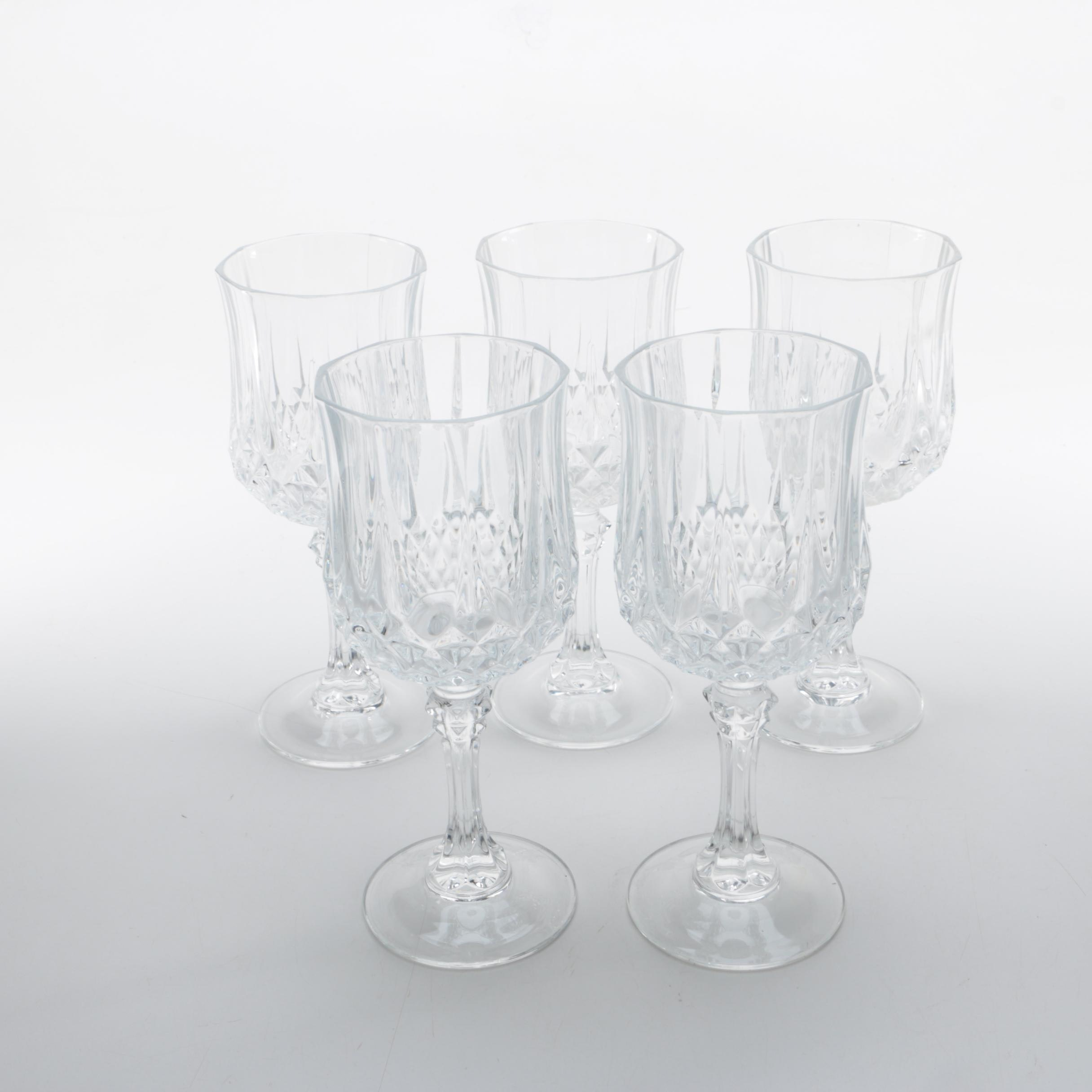 Glass Stemware Wine Glasses