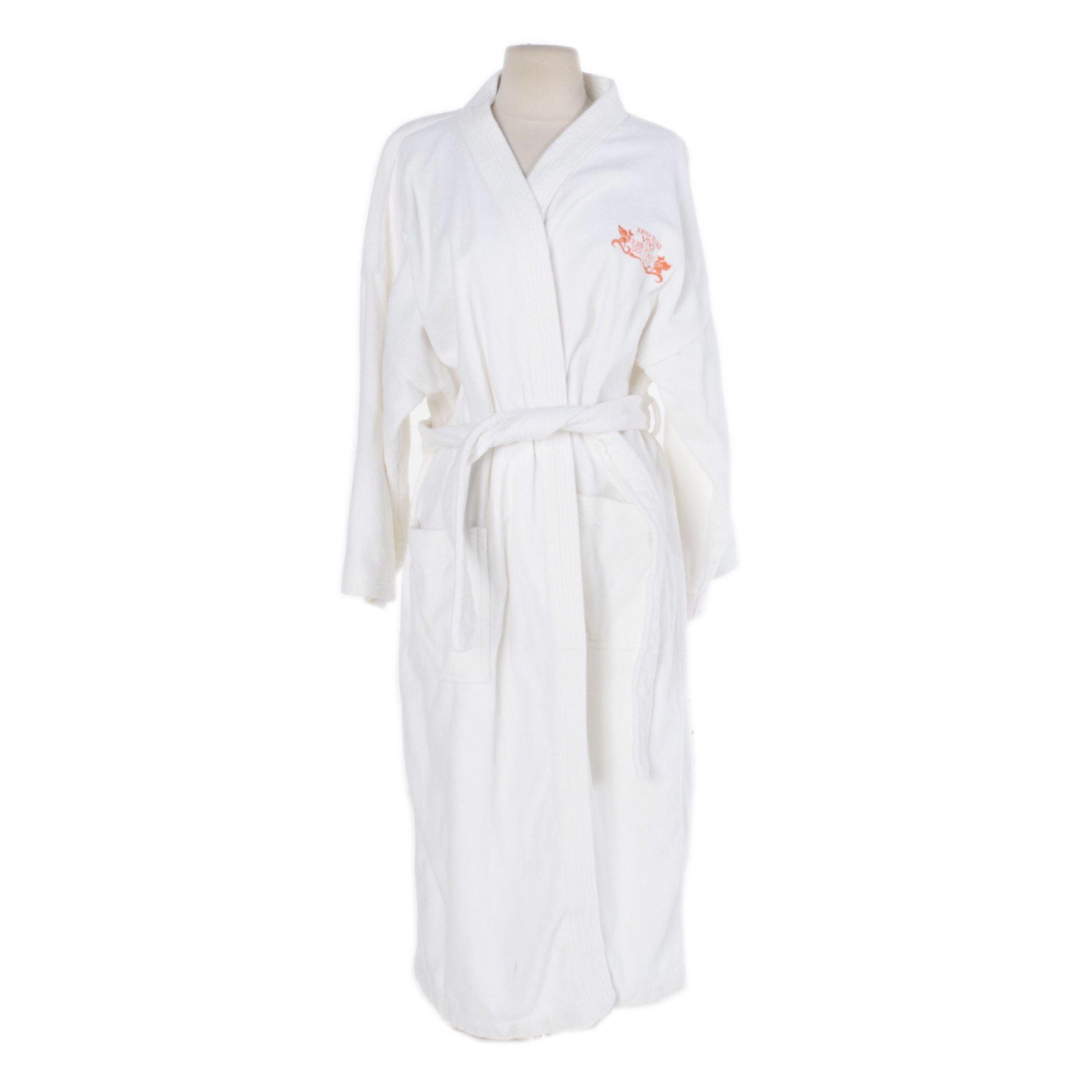 Women's Terry Cloth Spa Bathrobe