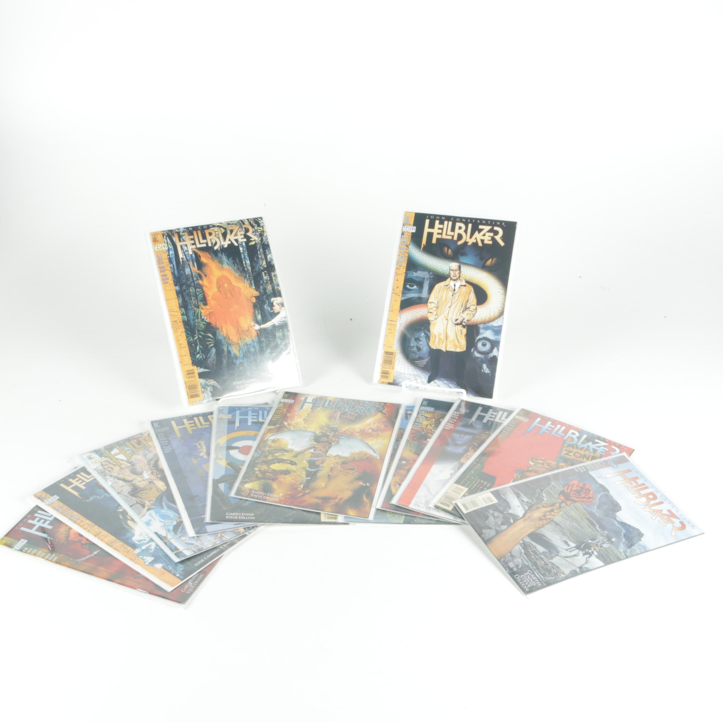 "Collection of ""John Constantine Hellblazer"" Comic Books"