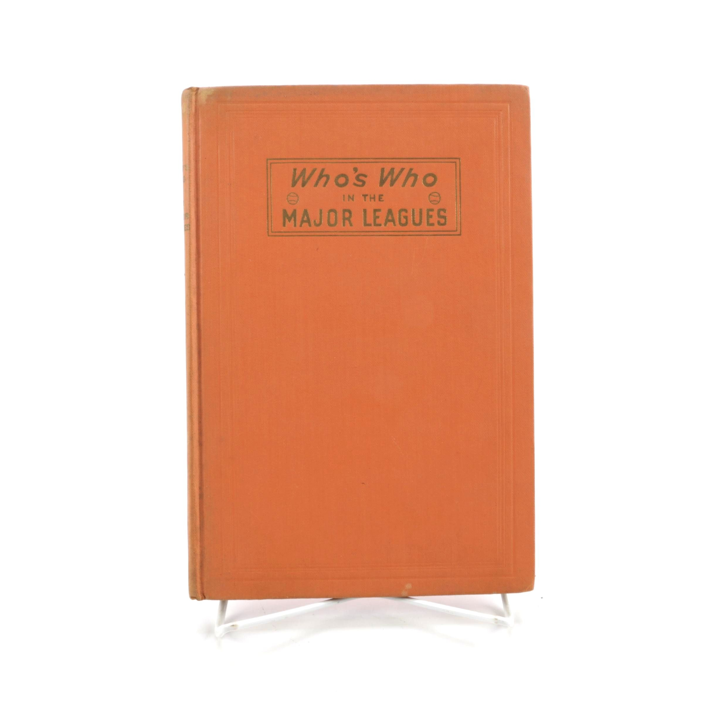 """1946 14th Edition """"Who's Who in the Major Leagues"""""""
