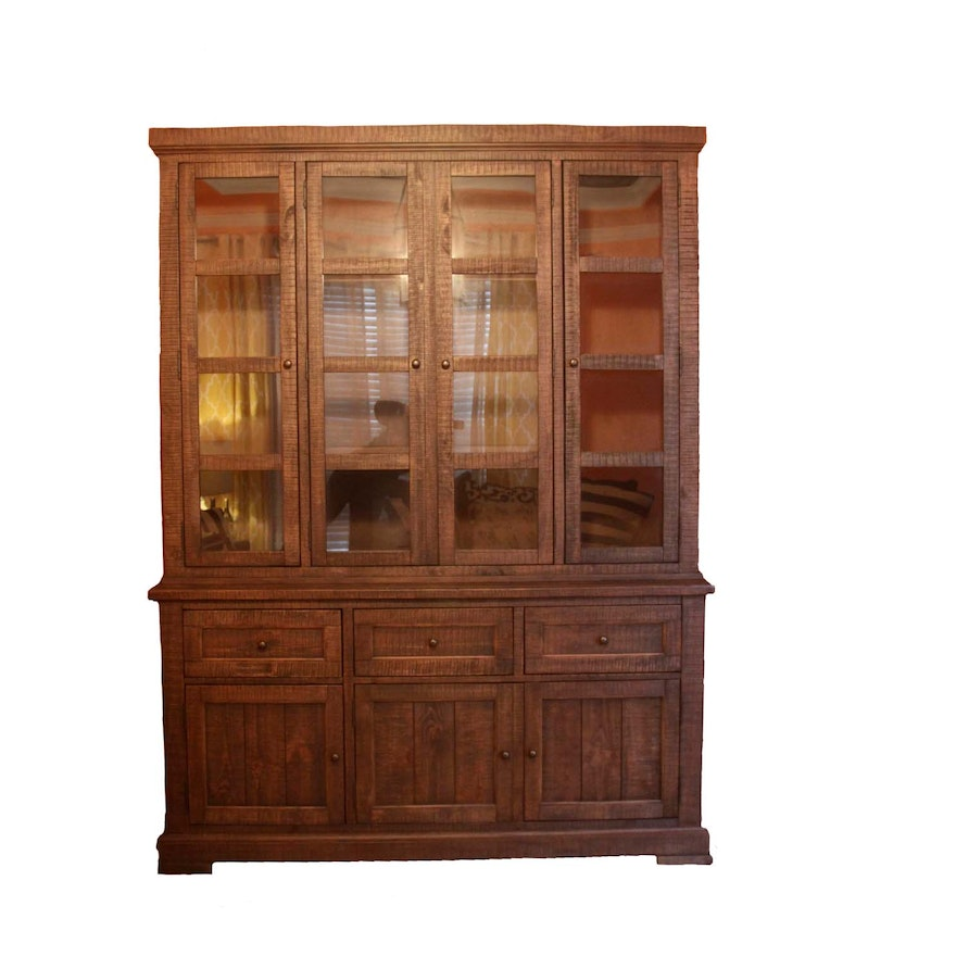 Ashley Furniture Display Cabinet And Hutch Ebth