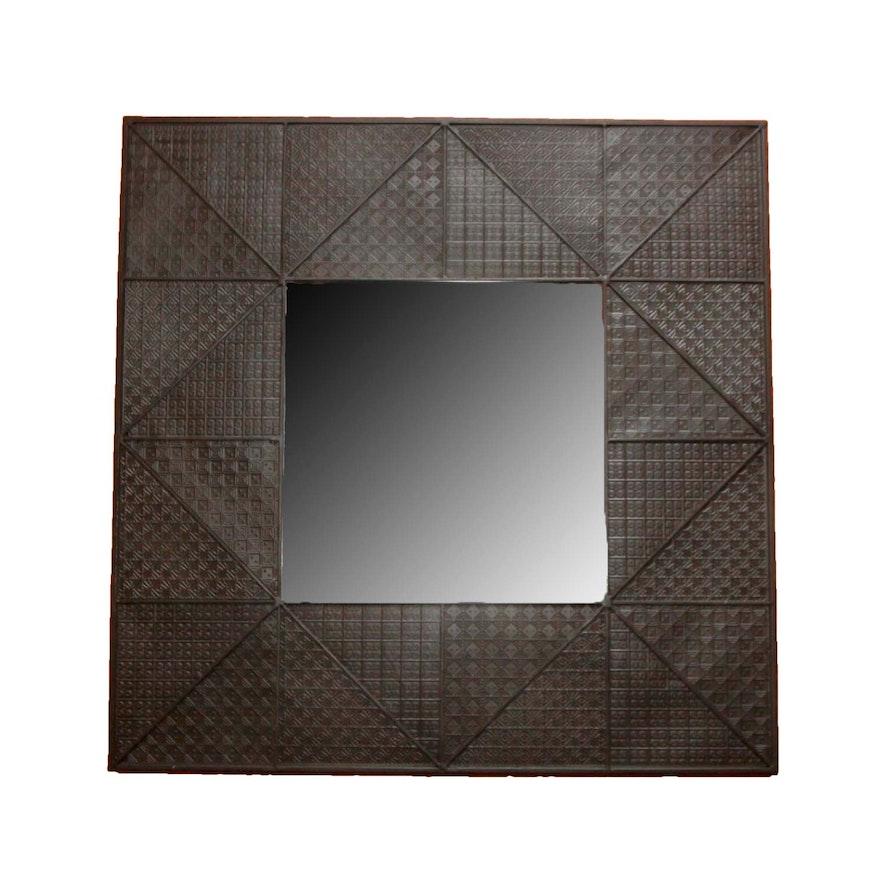 Decorative Metal Framed Wall Mirror : EBTH