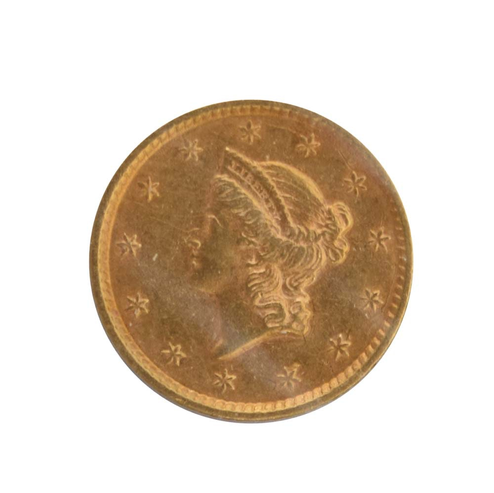 1852 Liberty Head Gold Dollar