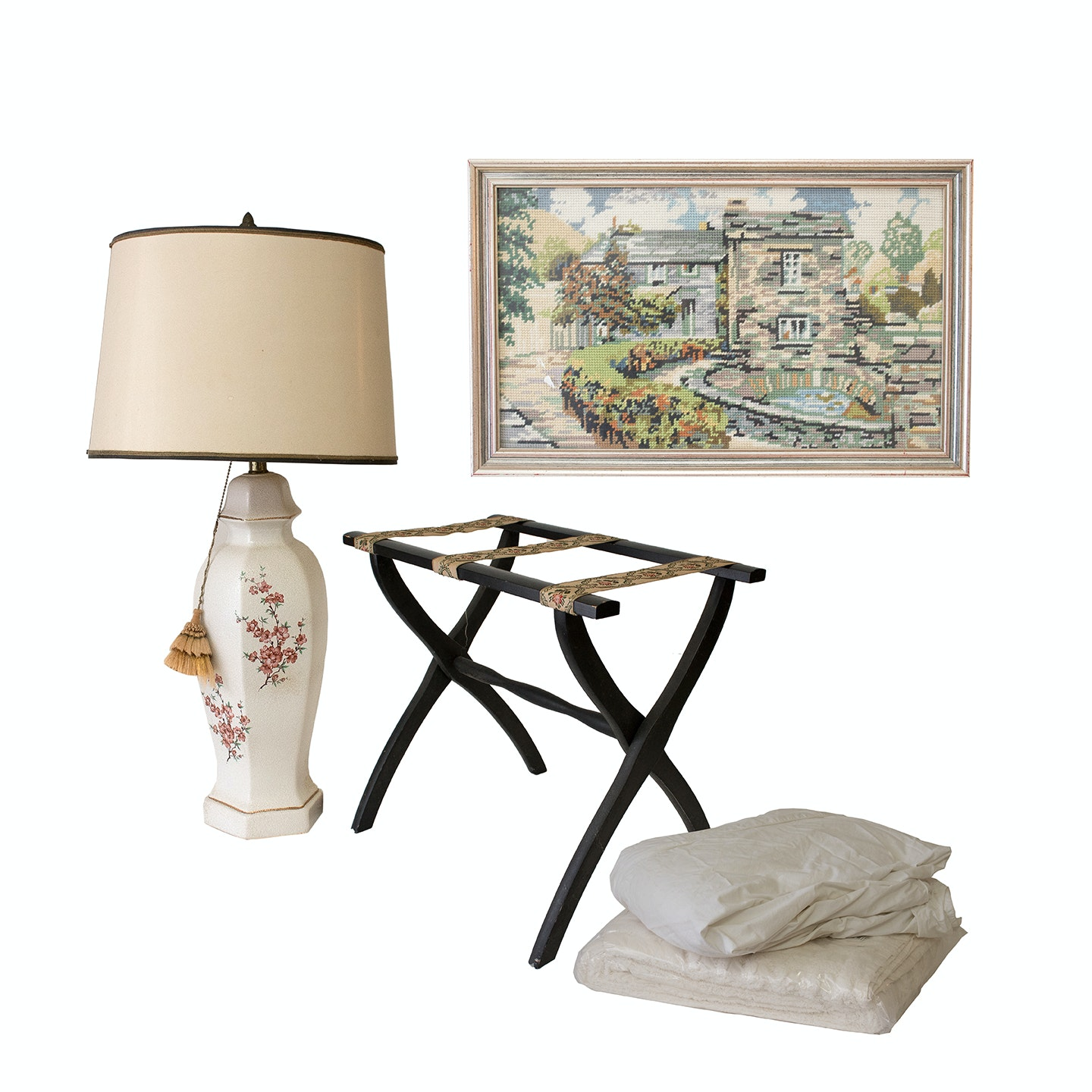 Bed Linens and Vintage Home Decor