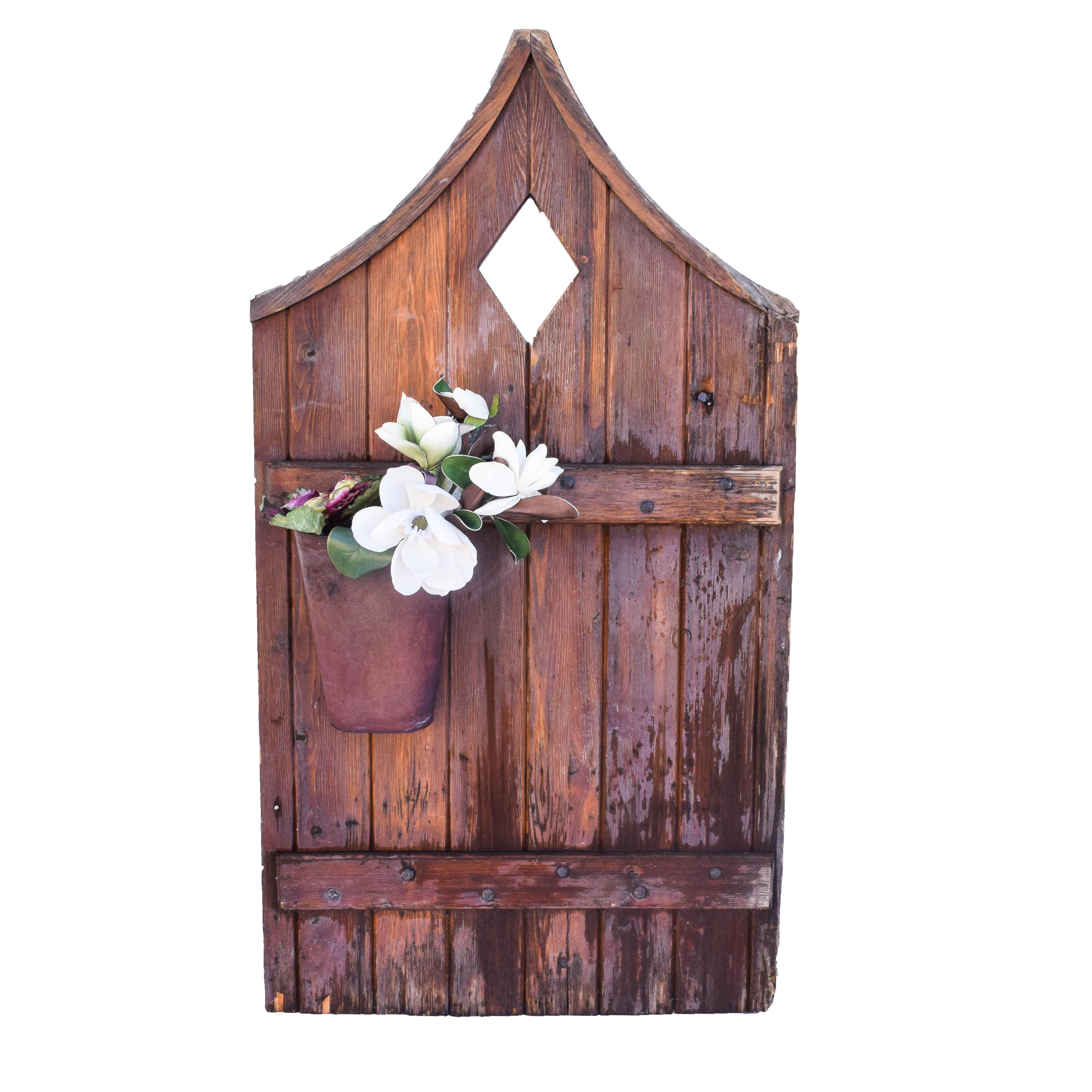 Vintage Wood Garden Door