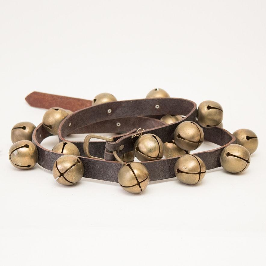 Vintage Brass Sleigh Bells