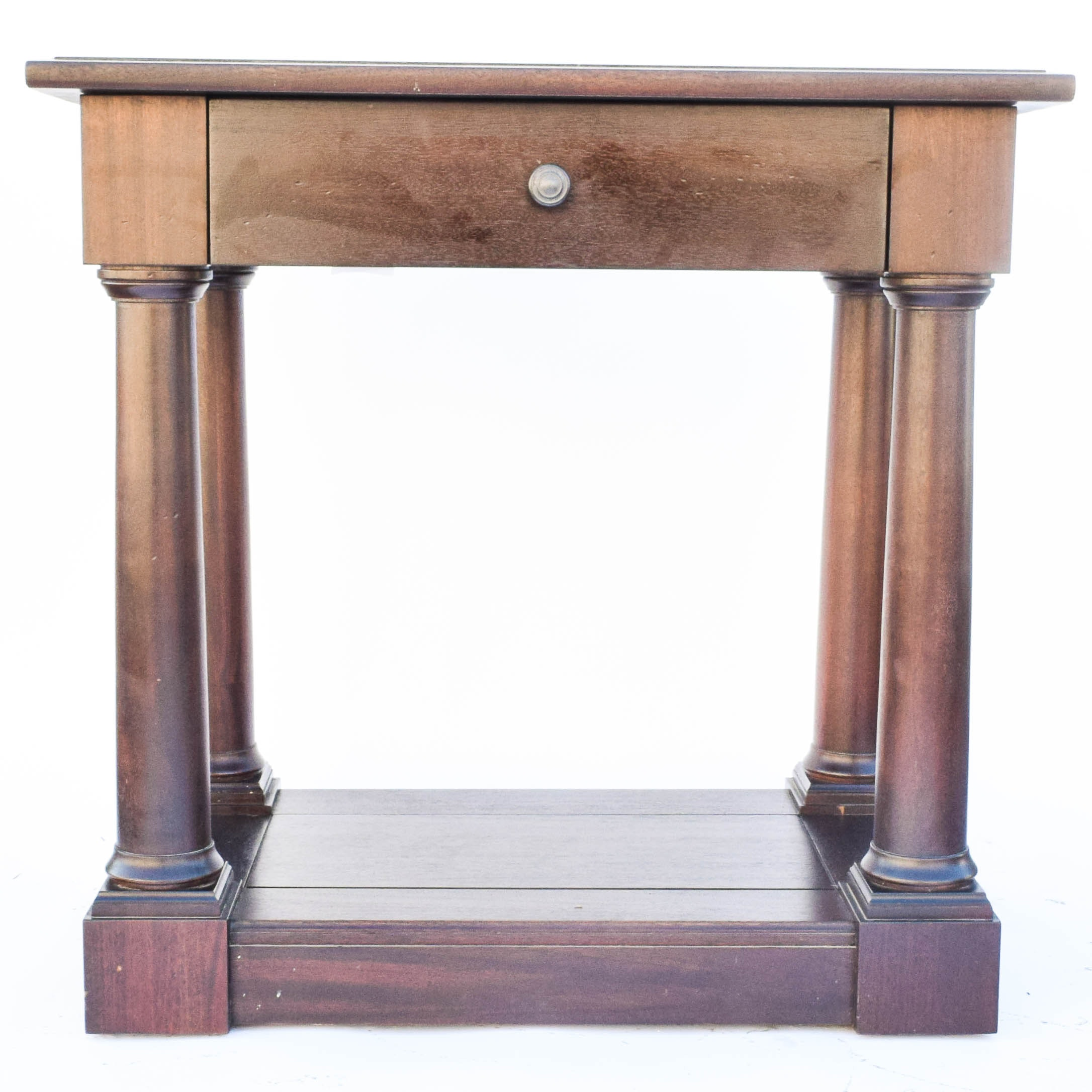 American Empire Style Side Table by Restoration Hardware
