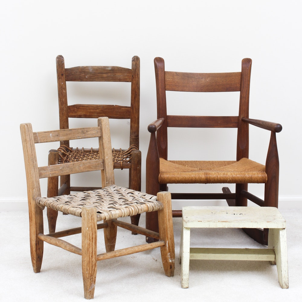 Antique and Vintage Children's Chairs