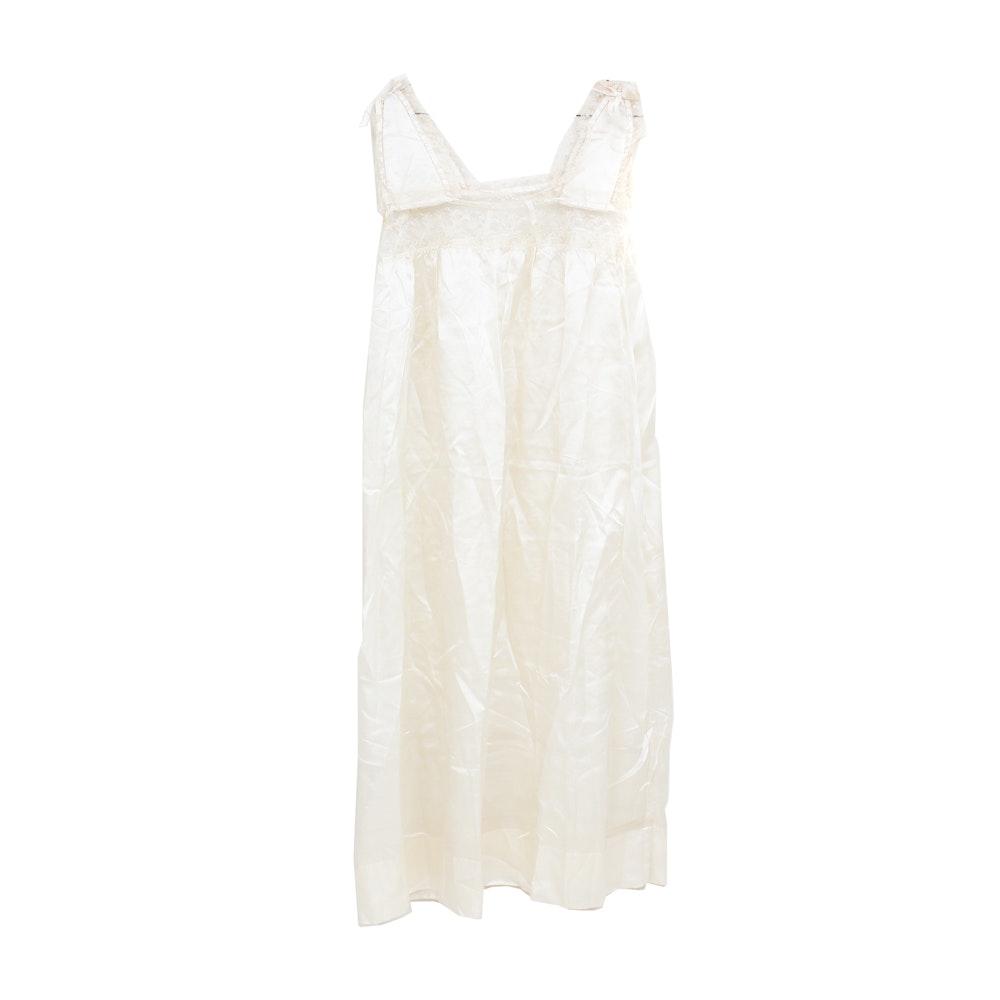 Vintage Silk Negligee