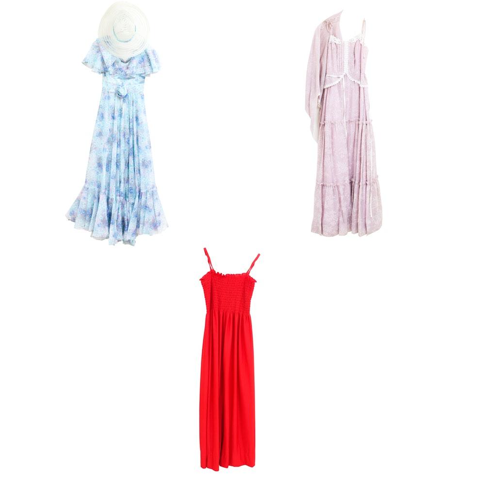 Women's Vintage Summer Dresses