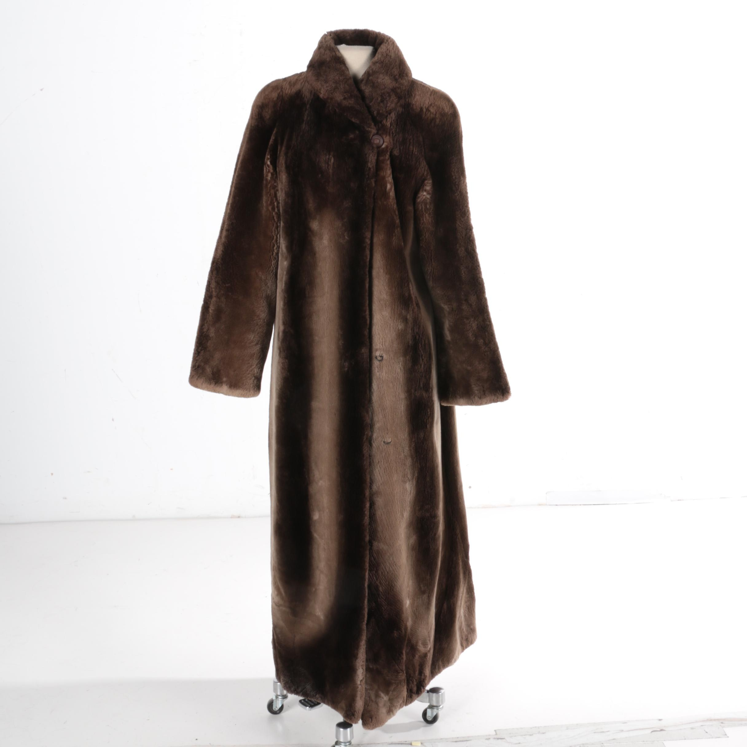 Women's Sheared Beaver Fur Coat