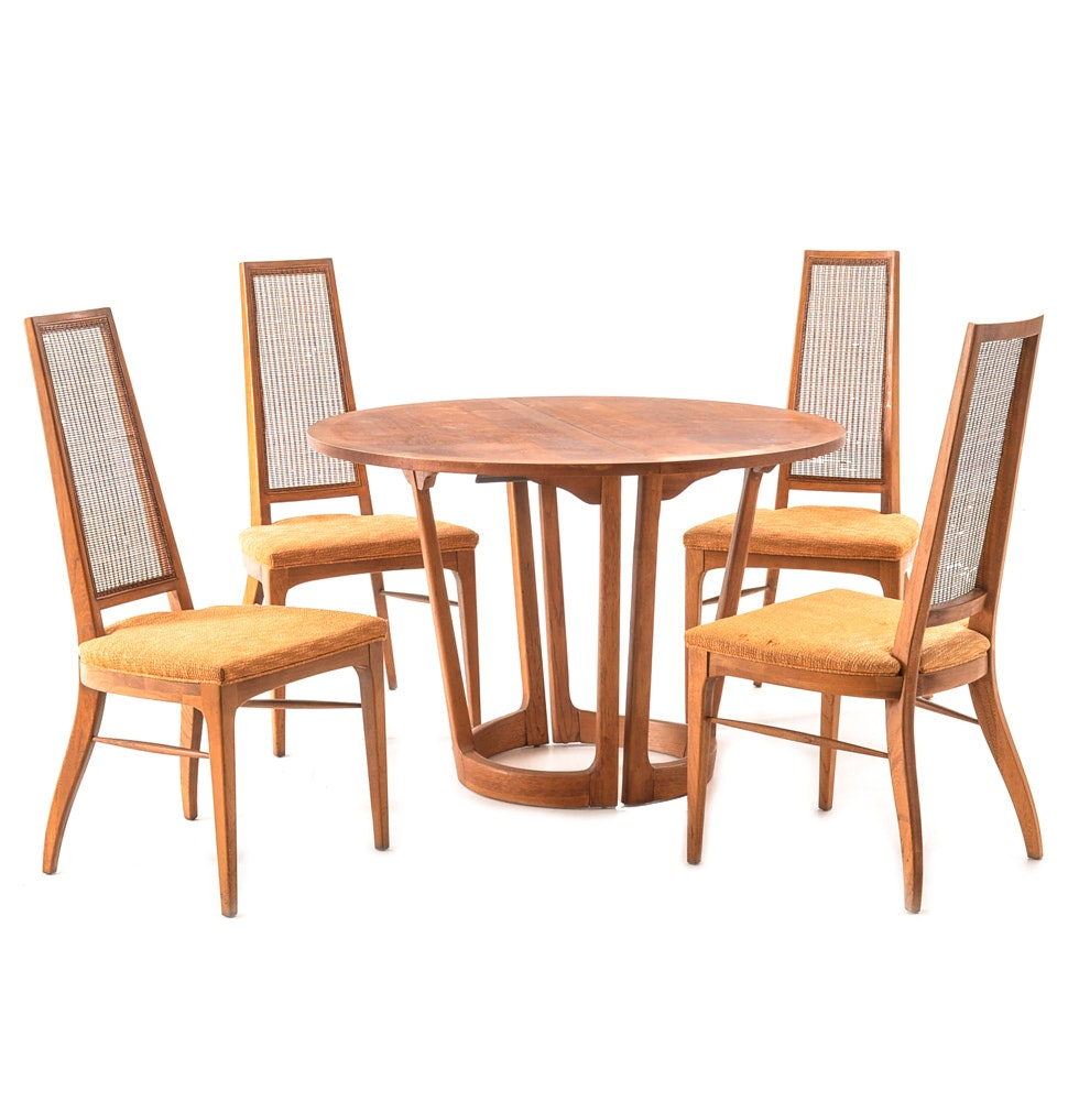 Mid Century Modern Dining Set by Lane Attributed to Adrian Pearsall