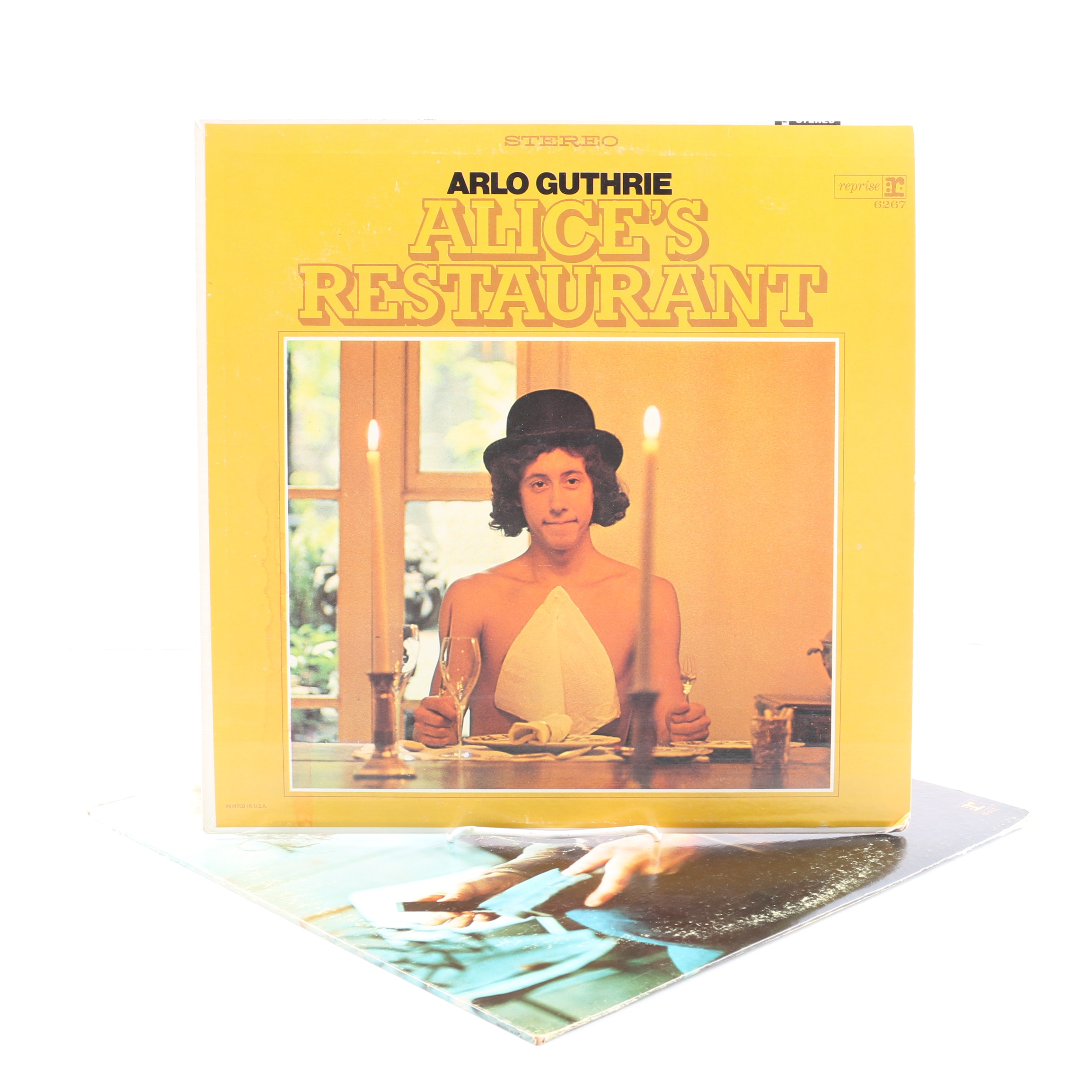"""Arlo Guthrie LPs Including """"Alice's Restaurant"""" and """"Washington County"""""""