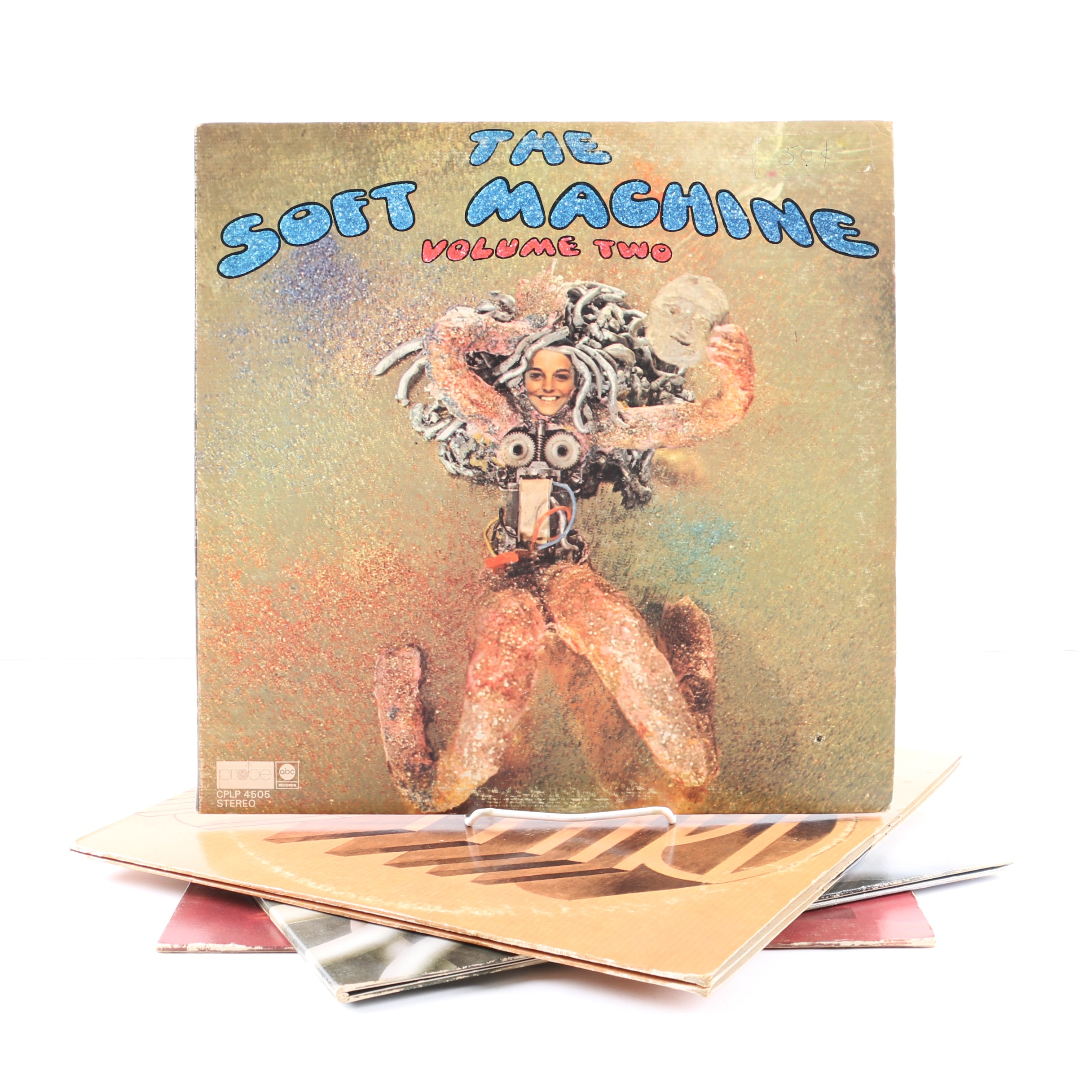 "Soft Machine LPs ""Volume Two"", ""Third"", ""Fourth"", and ""Six"""