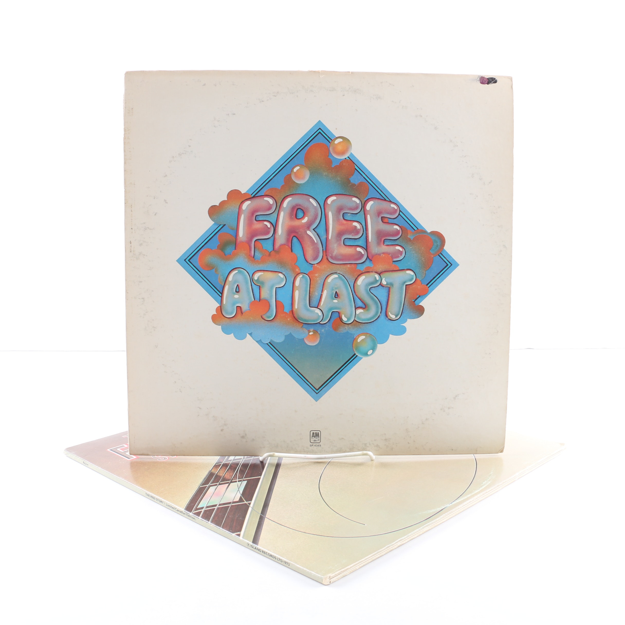 """Free LPs Including """"Free At Last"""" and """"The Free Story"""""""