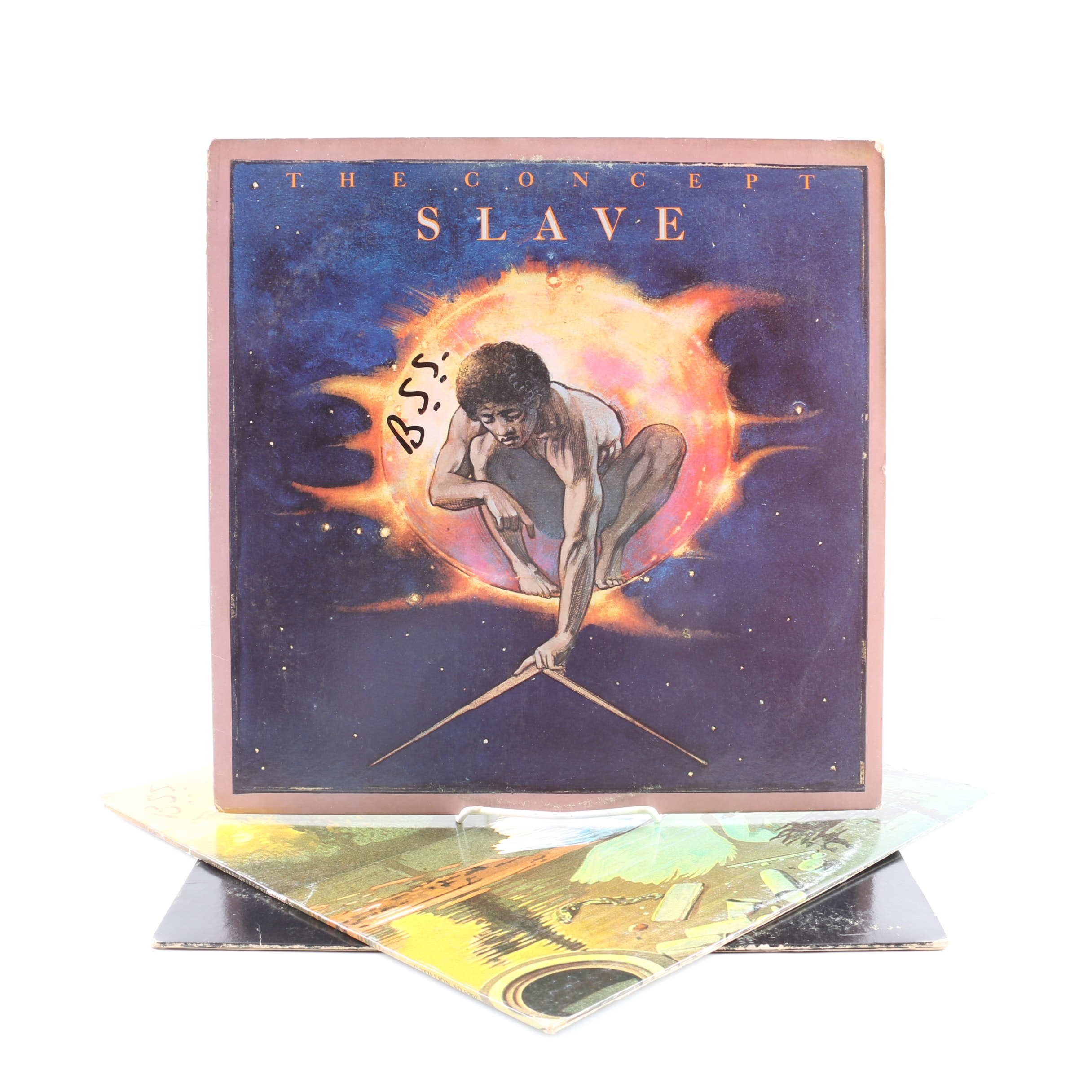 "Slave LPs Including ""The Hardness Of The World"" and ""The Concept"""