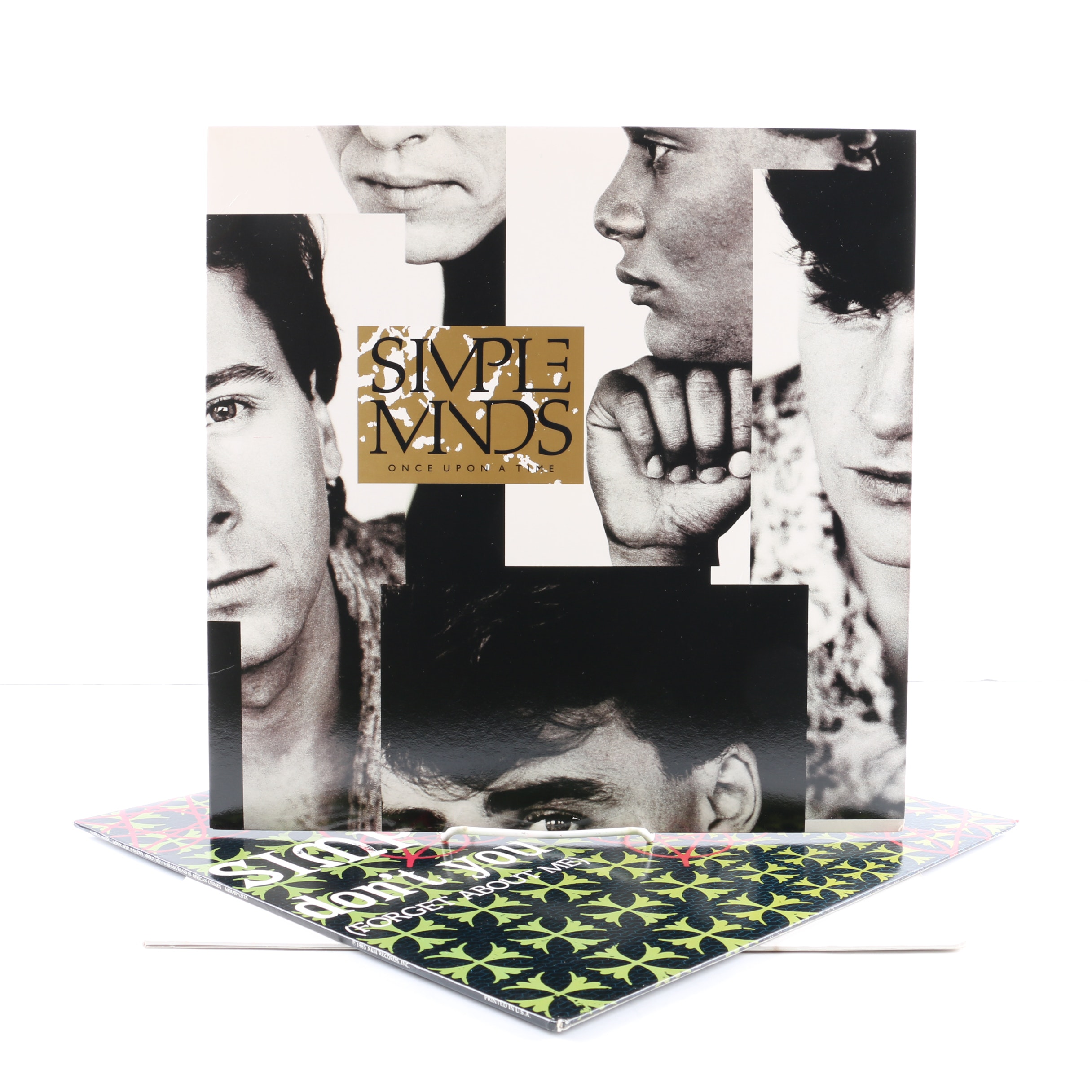 """Simple Minds LP and 12"""" Singles Including """"Once Upon A Time"""""""