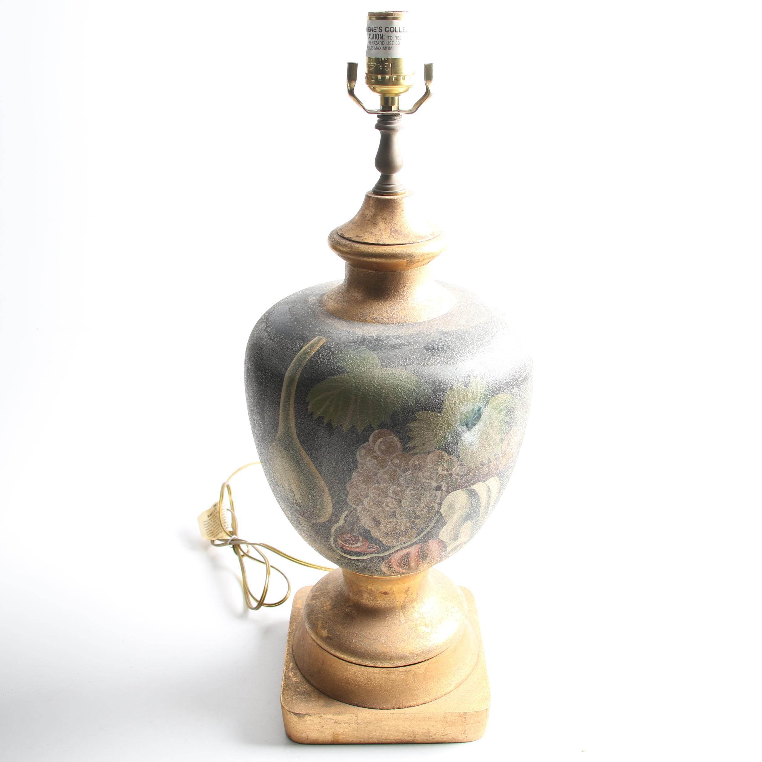 Urn Shaped Ceramic Table Lamp