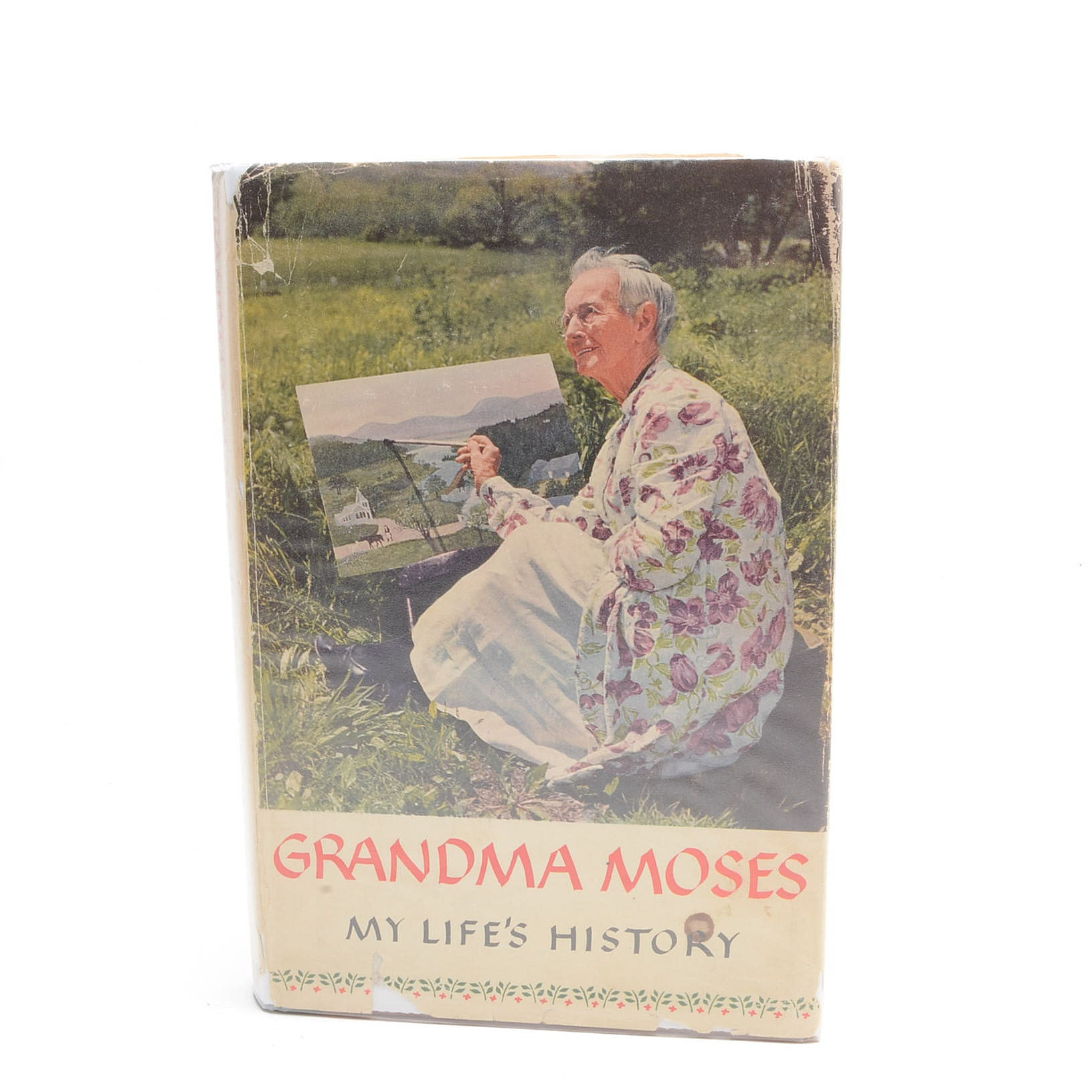 """""""My Life's History"""" Signed by Grandma Moses"""