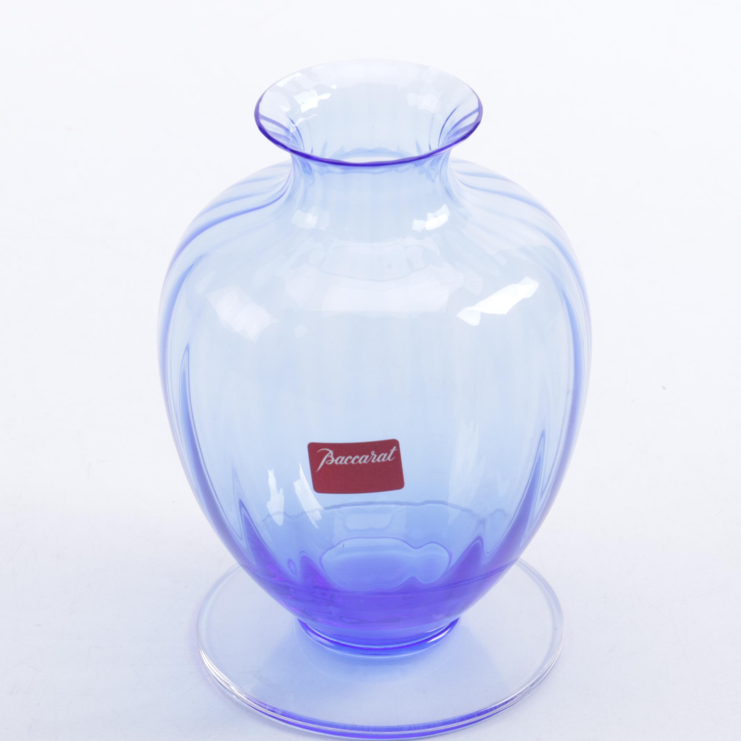 Vintage Baccarat Crystal Vase