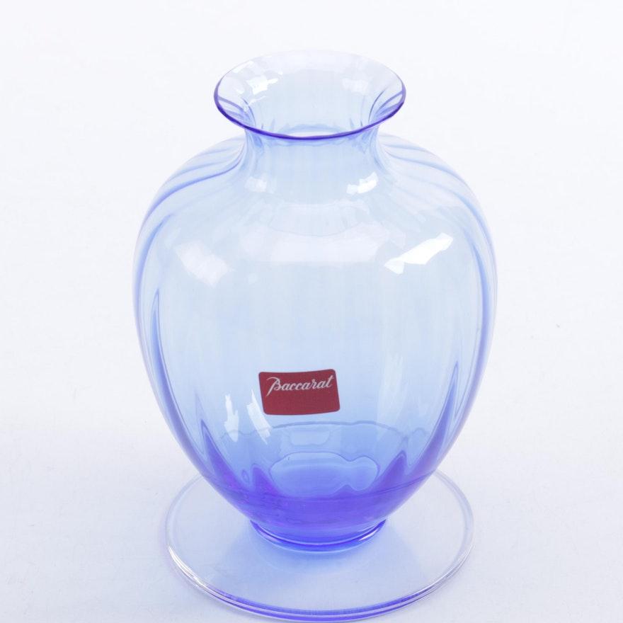 Vintage Baccarat Crystal Vase Ebth