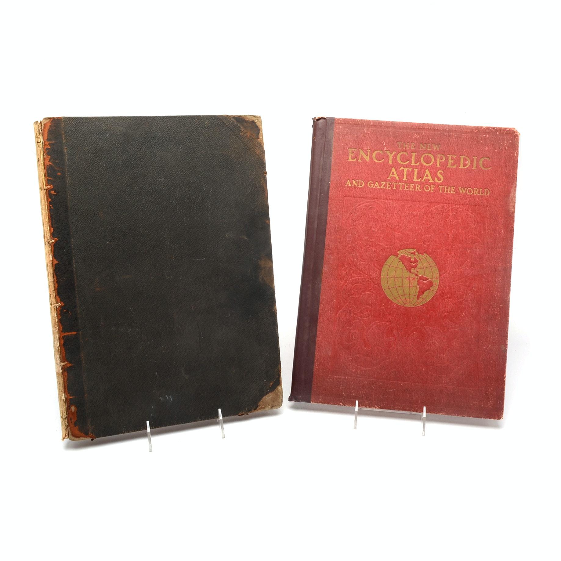 "1910 ""Scientific American"" Supplement and 1907 ""Encyclopedic Atlas"""