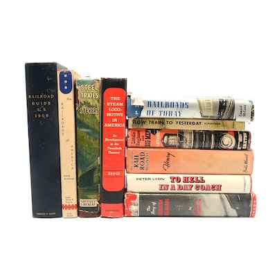 Vintage Railroad Hardcover Book Group