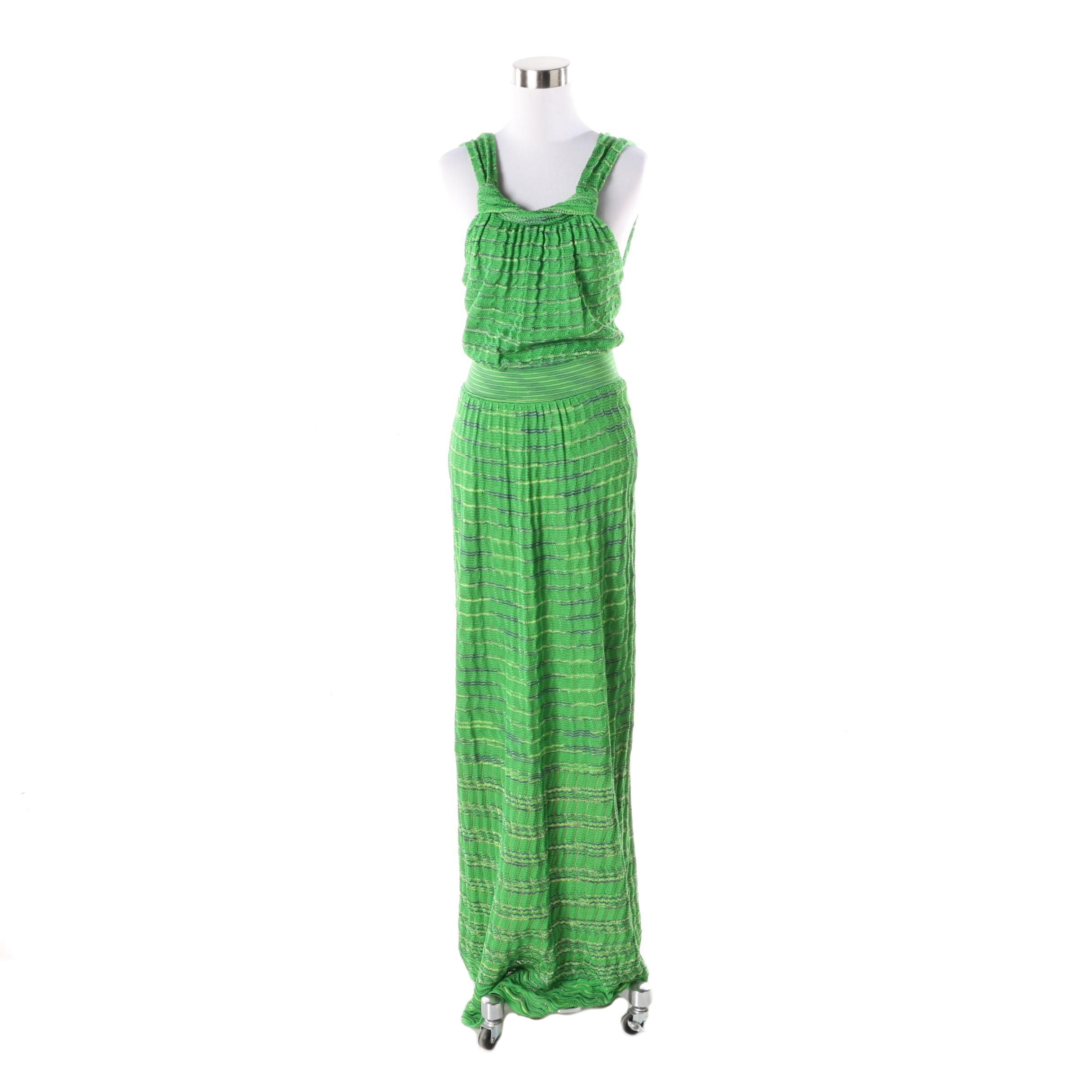 M Missoni Long Knit Dress