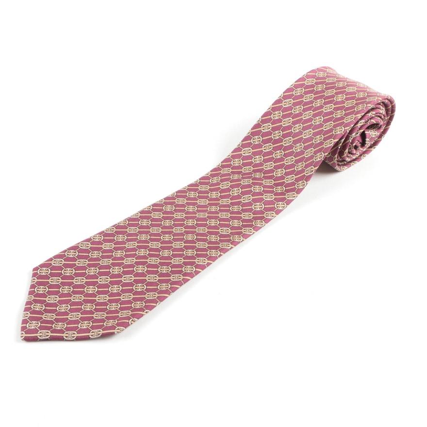 Vintage Hermès Silk Necktie