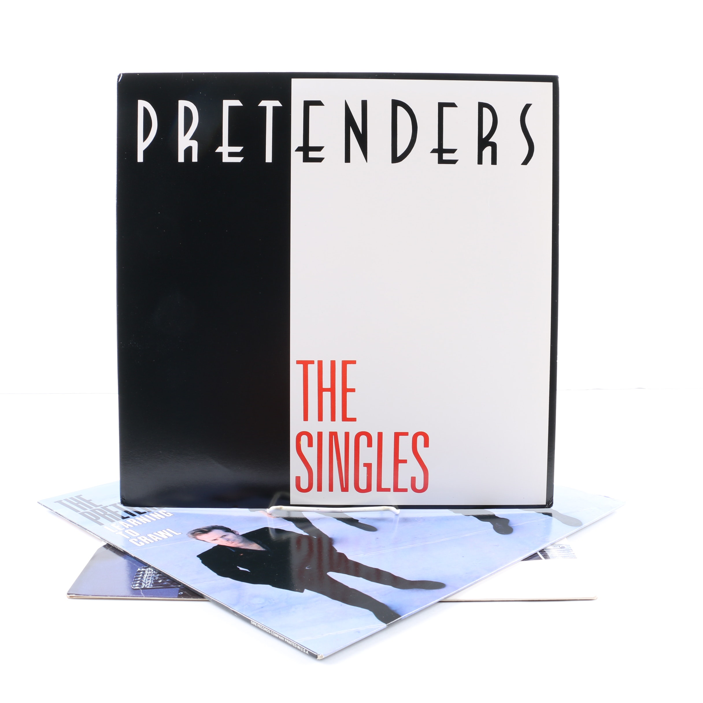 """The Pretenders LPs Including """"Learning To Crawl"""" and """"Get Close"""""""