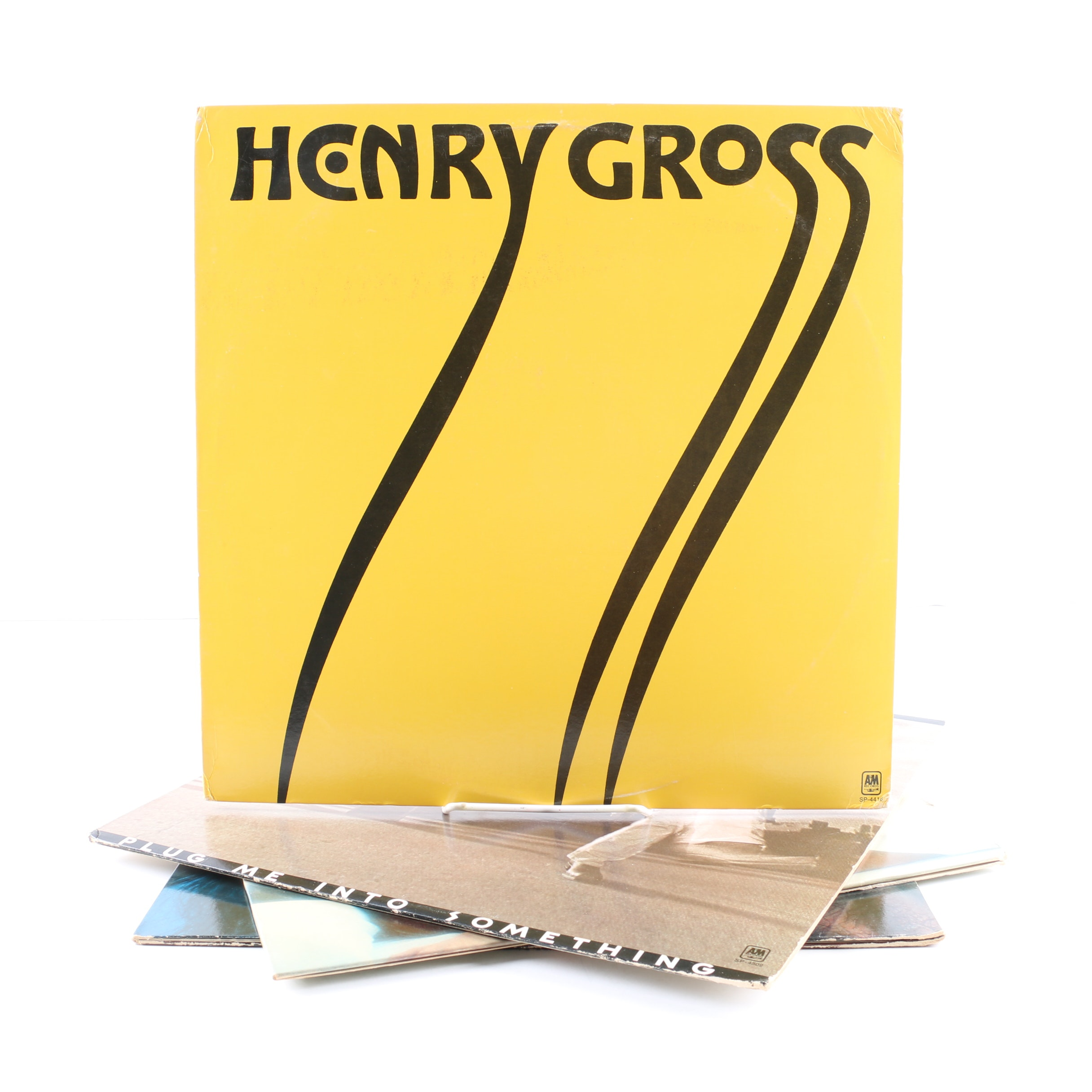 """Henry Gross LPs Including """"Plug Me Into Something"""" and """"Release"""""""