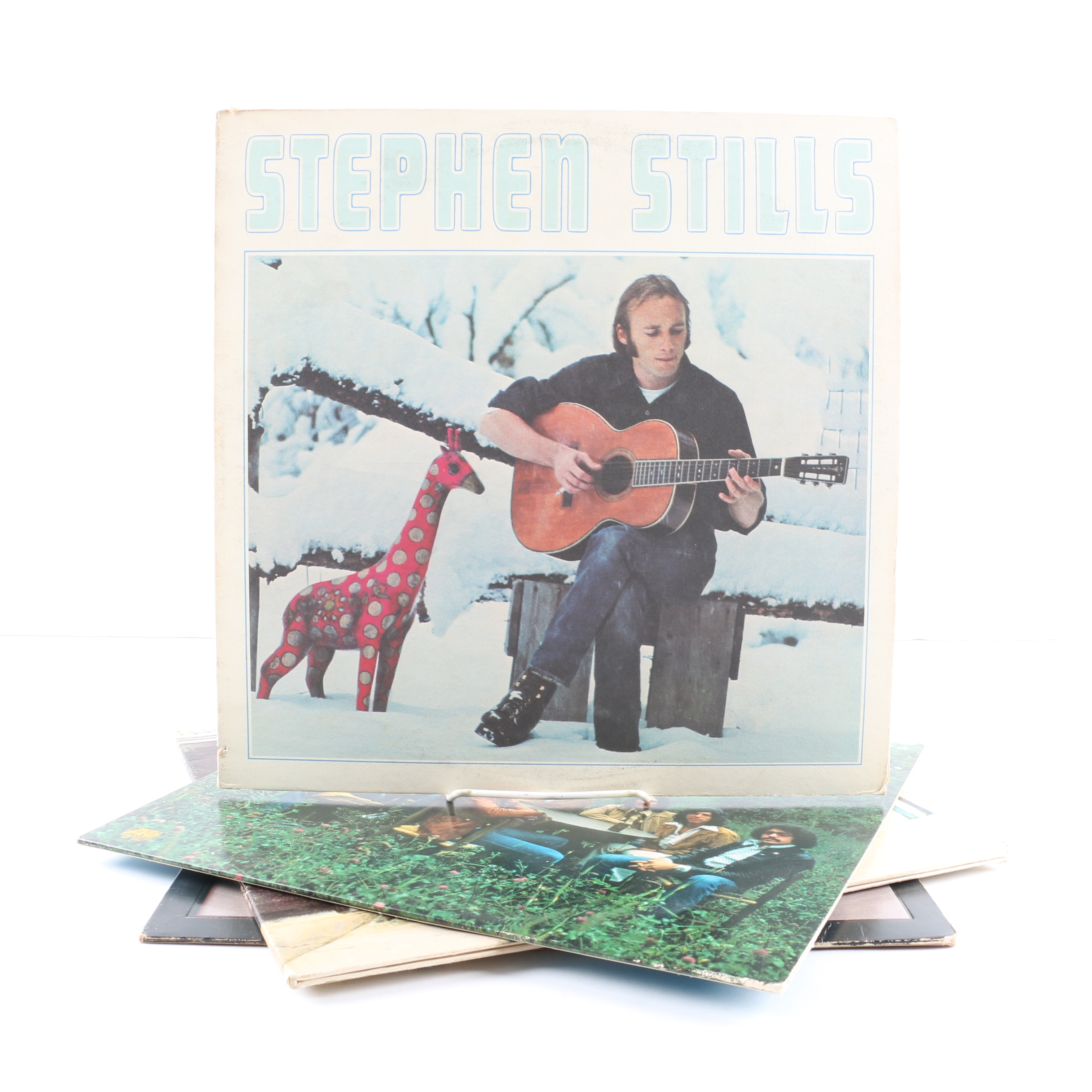 """Stephen Stills LPs Including """"Manassas"""" and """"Long May You Run"""""""