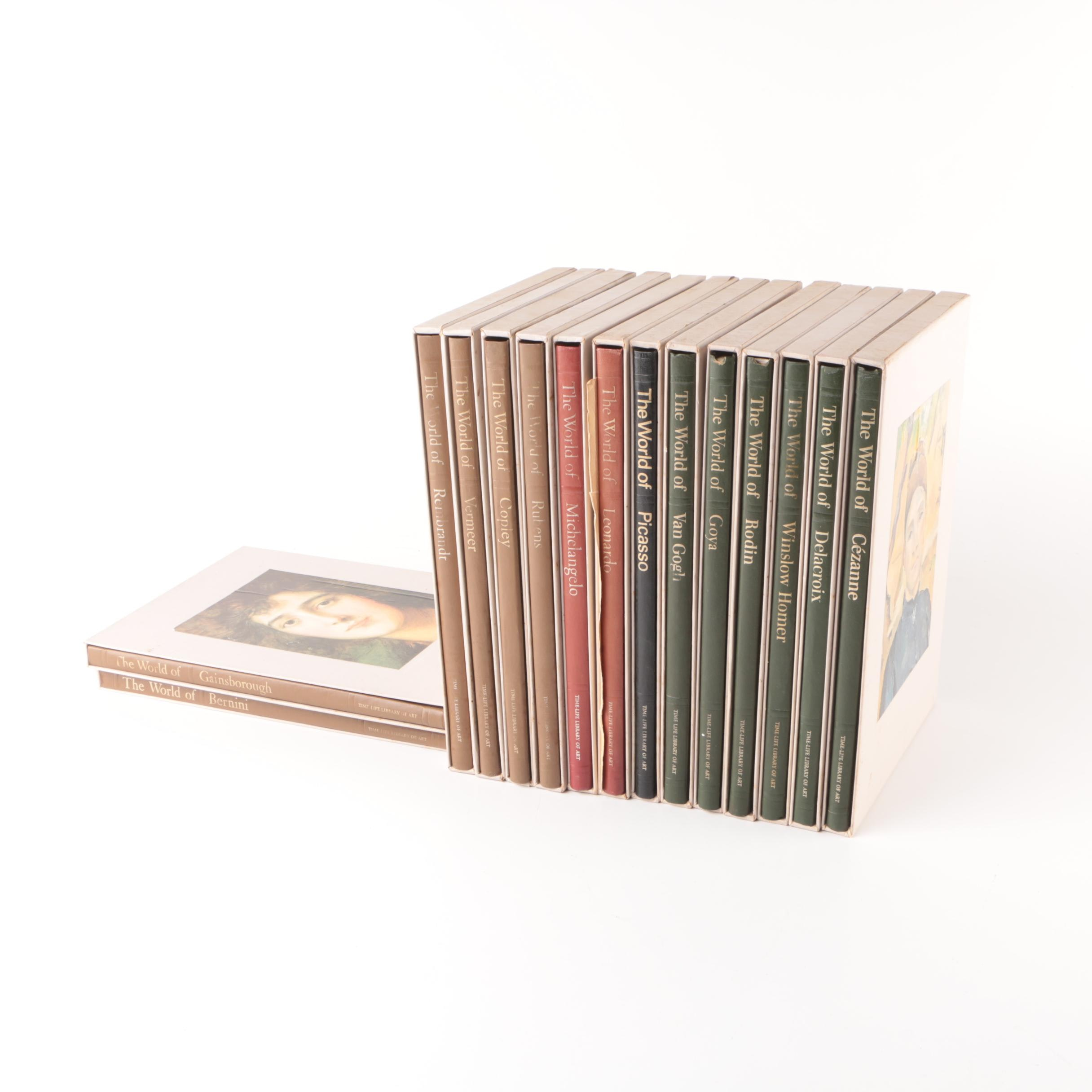 """Fifteen-Volume """"Time-Life Library of Art"""""""