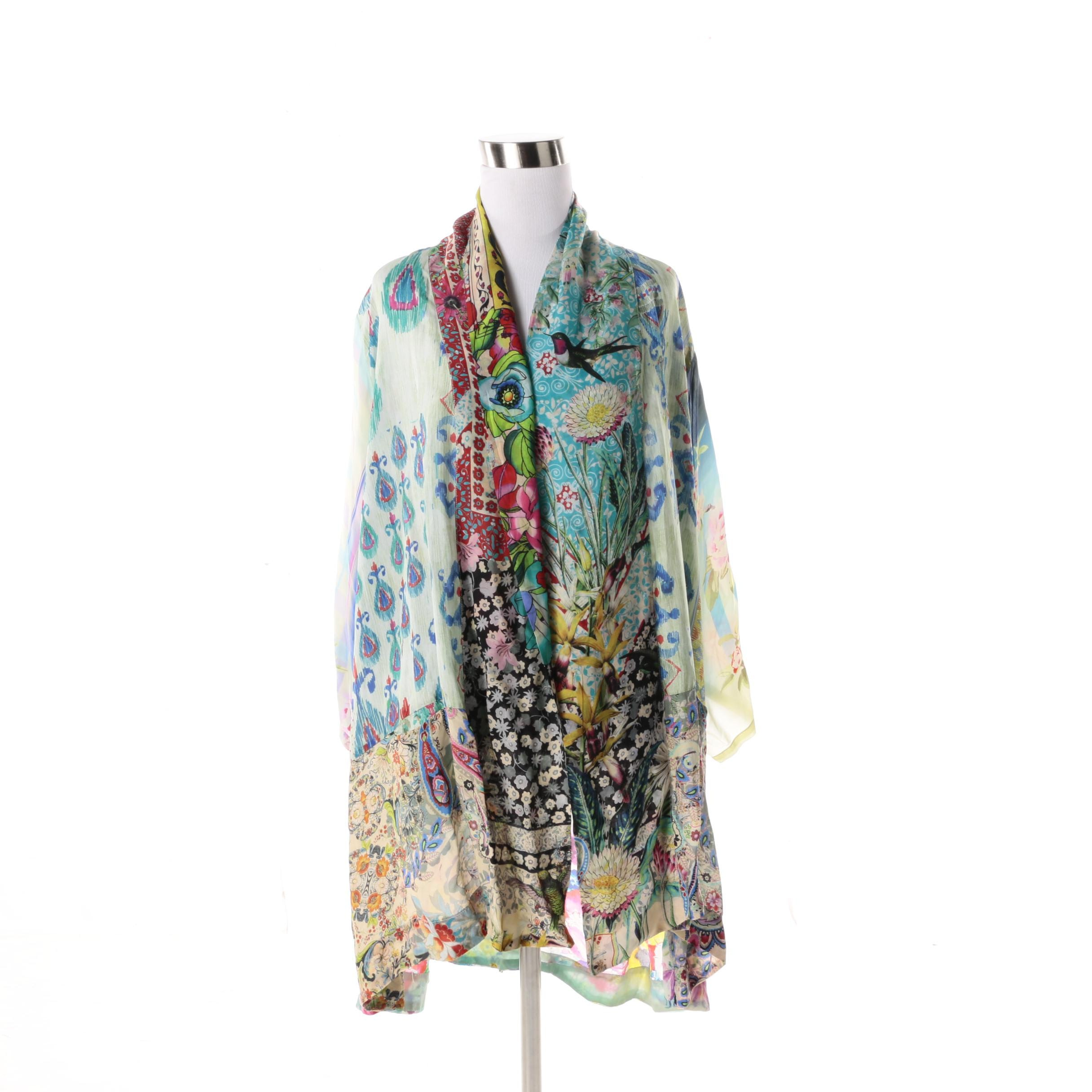 Women's Johnny Was Silk Chiffon Jacket