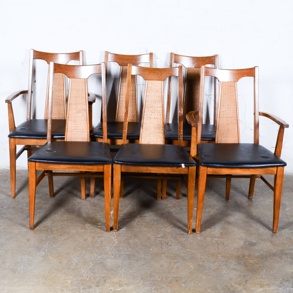 Vintage Mid Century Modern Dining Chairs by Liberty Chair Company