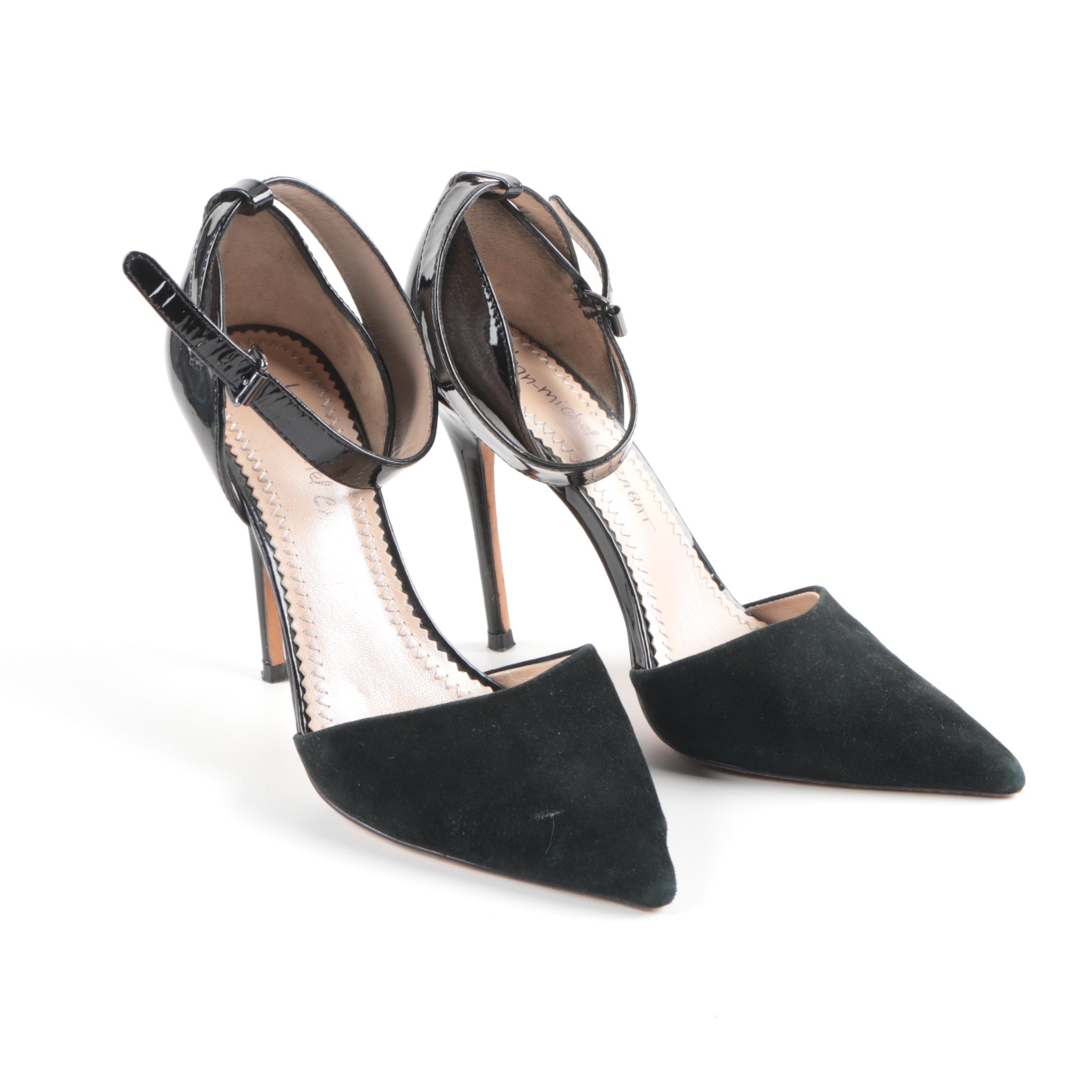 Women's Jean-Michael Cazabat Black Stiletto Heels