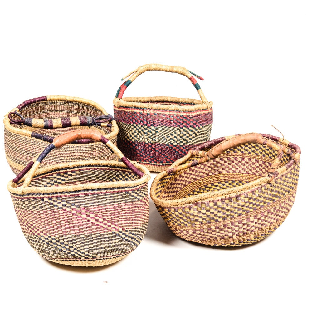 Assorted Woven Baskets