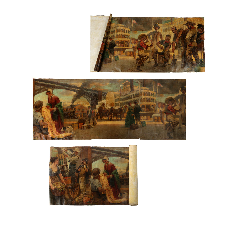 Andrew Karoly and Louis Szanto Monumental St. Louis Mural