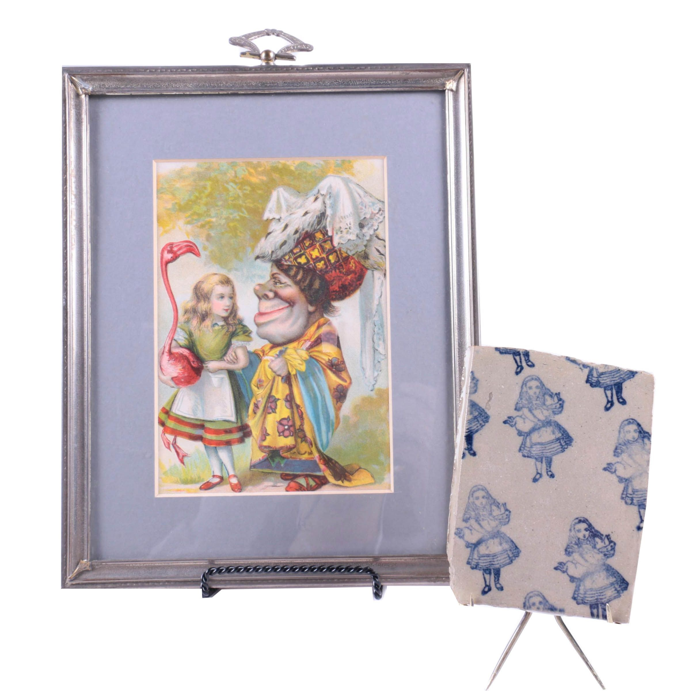 Alice in Wonderland Print and Decorative Items