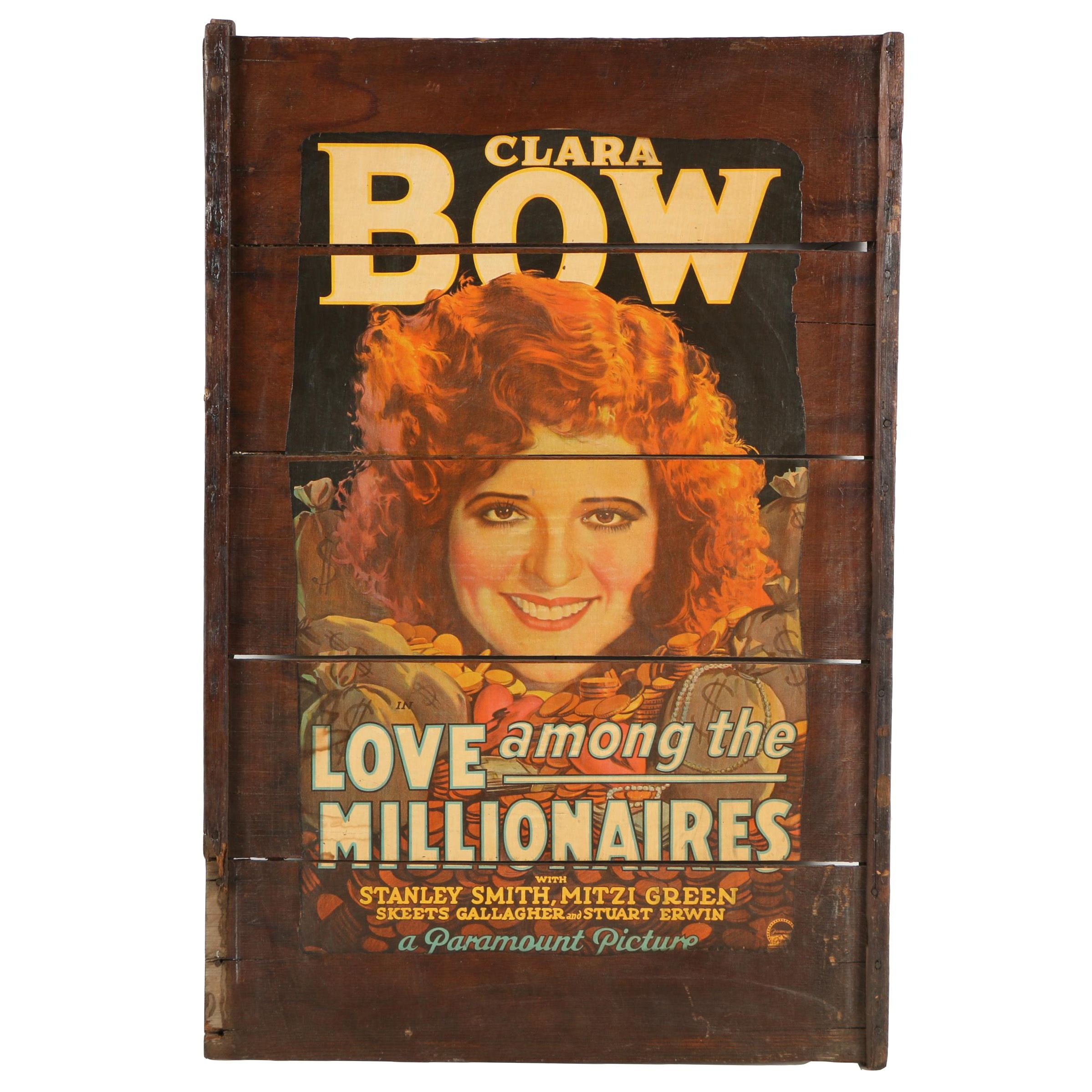 "Offset Lithograph Movie Poster ""Love Among the Millionaires"""